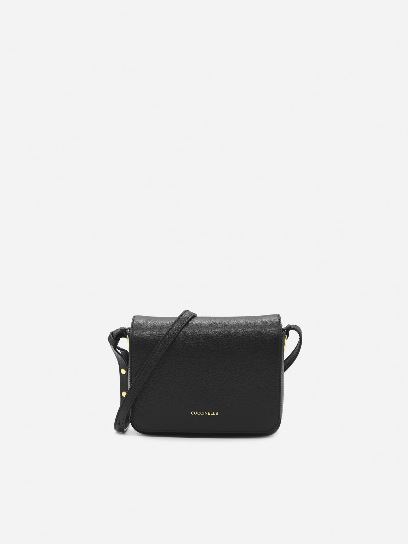 Lea Shoulder Bag In Grained Leather