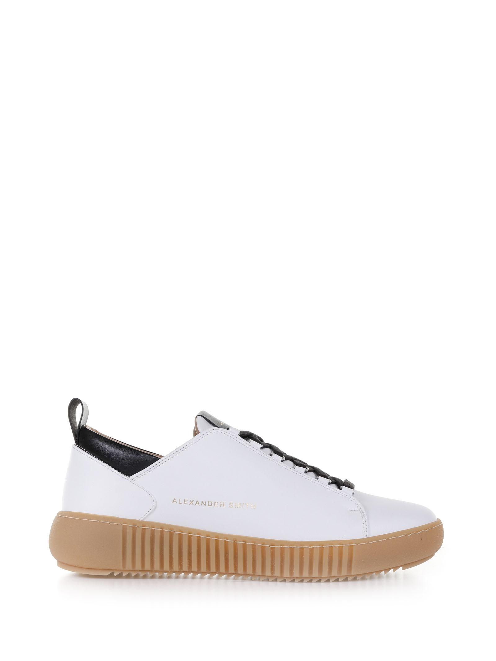 Baker Sneaker With Contrast Sole