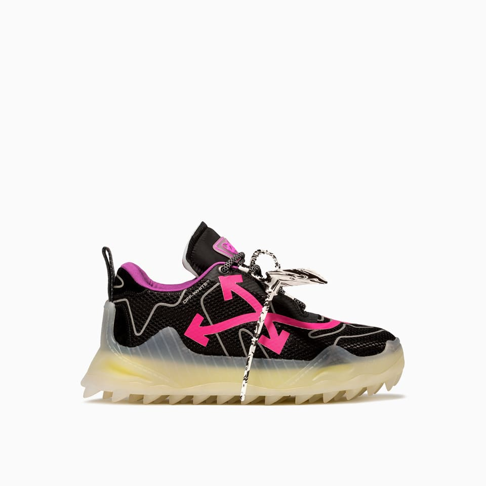 Off-white Odsy Mesh Transparent Sneakers Omia179e20fab001