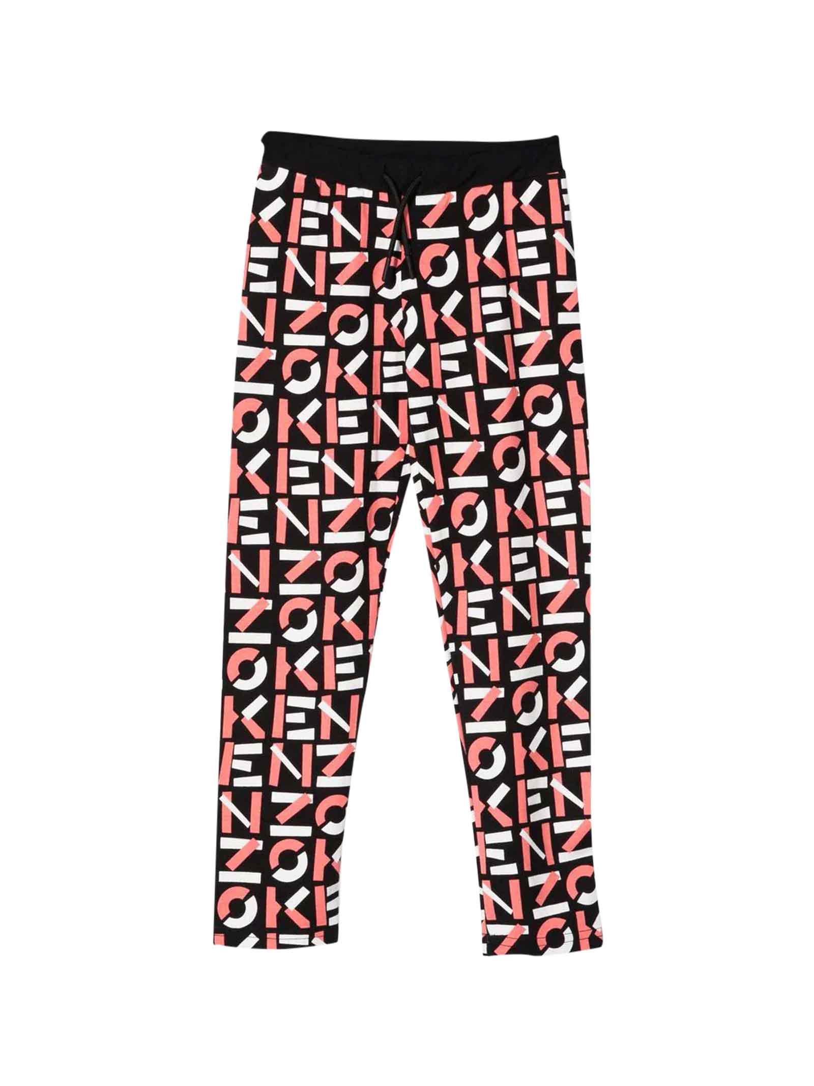 Girl Print Trousers