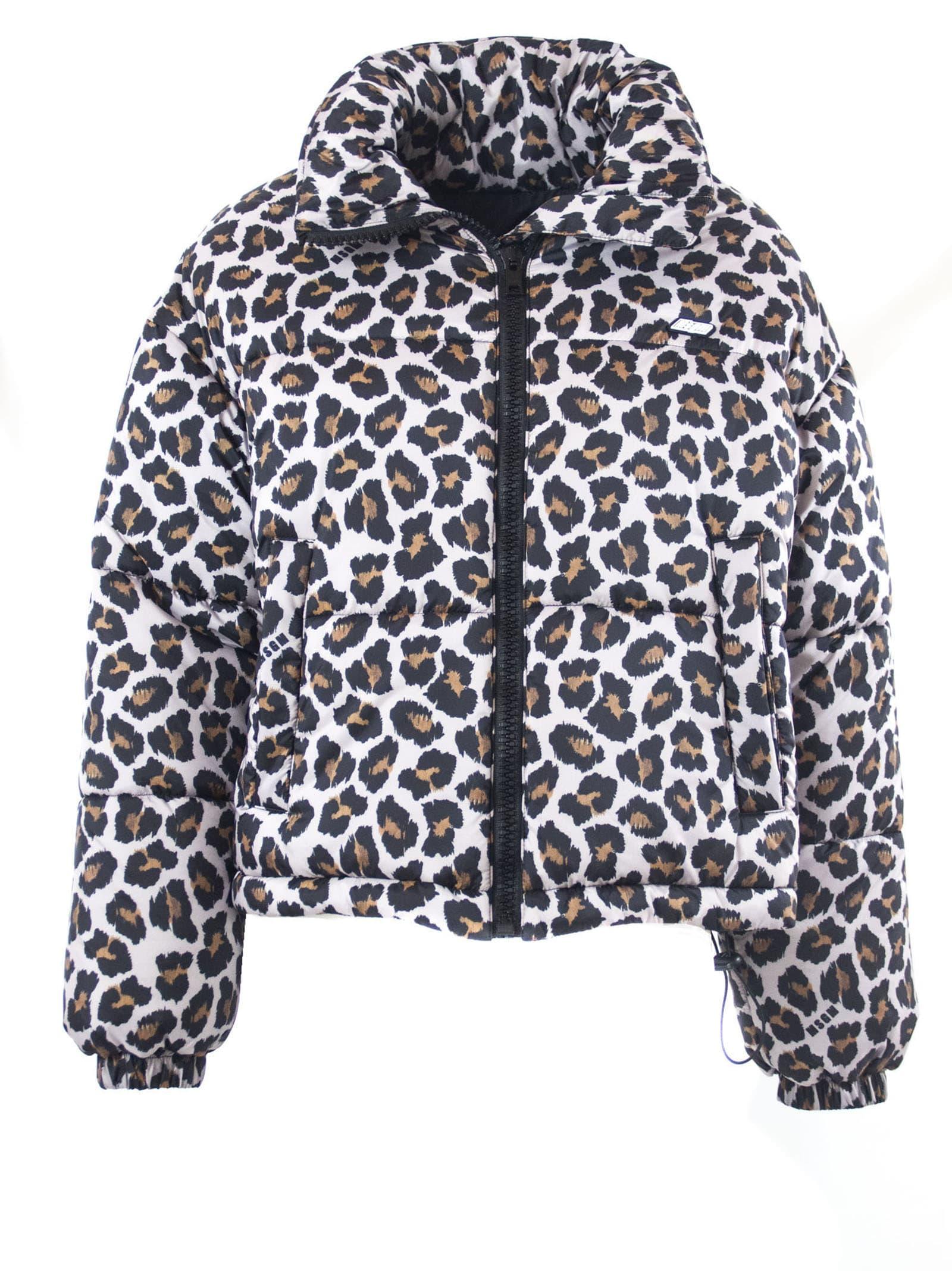 MSGM Crop Down Jacket