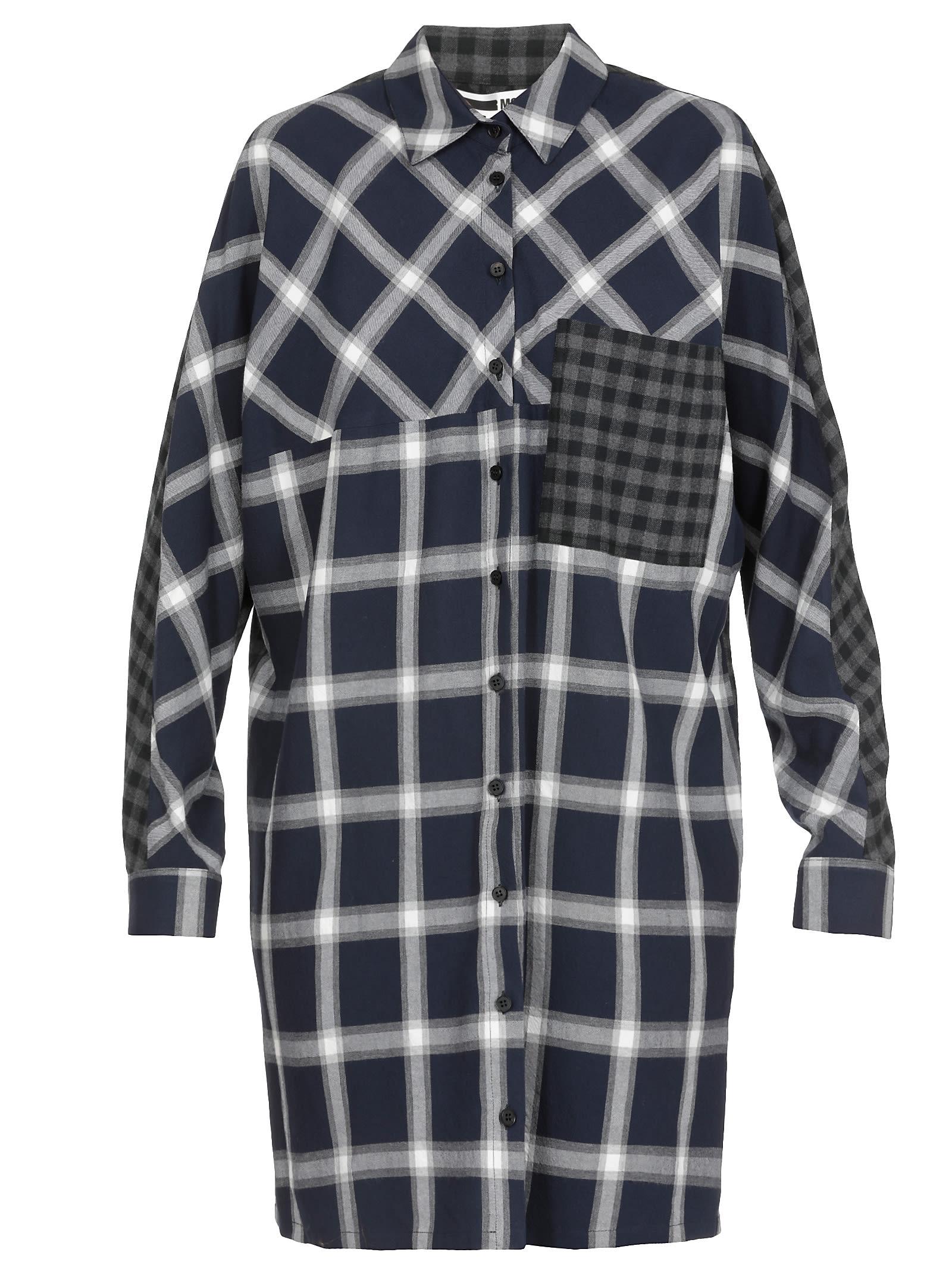 McQ Alexander McQueen Wool Blend Dress