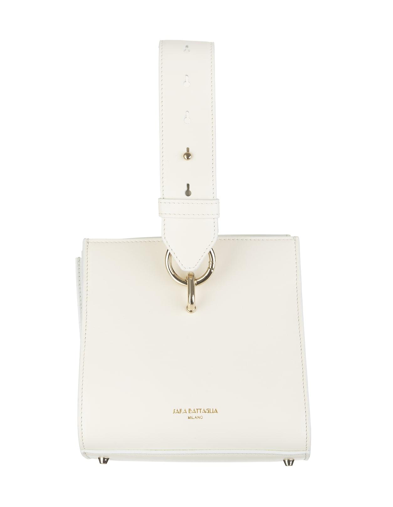 Virgi Bucket Ivory Bag