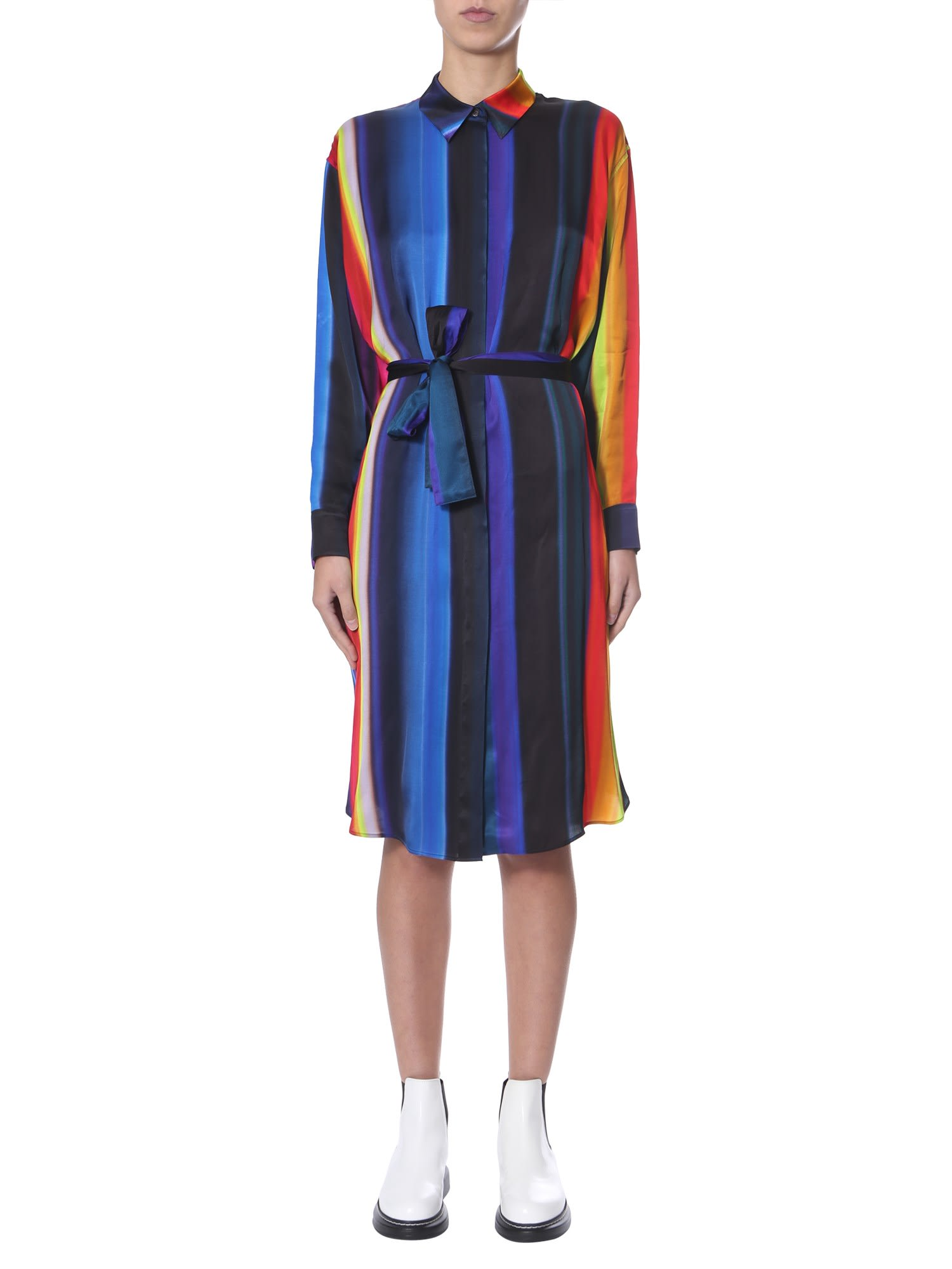 Buy PS by Paul Smith Shirt Dress online, shop PS by Paul Smith with free shipping