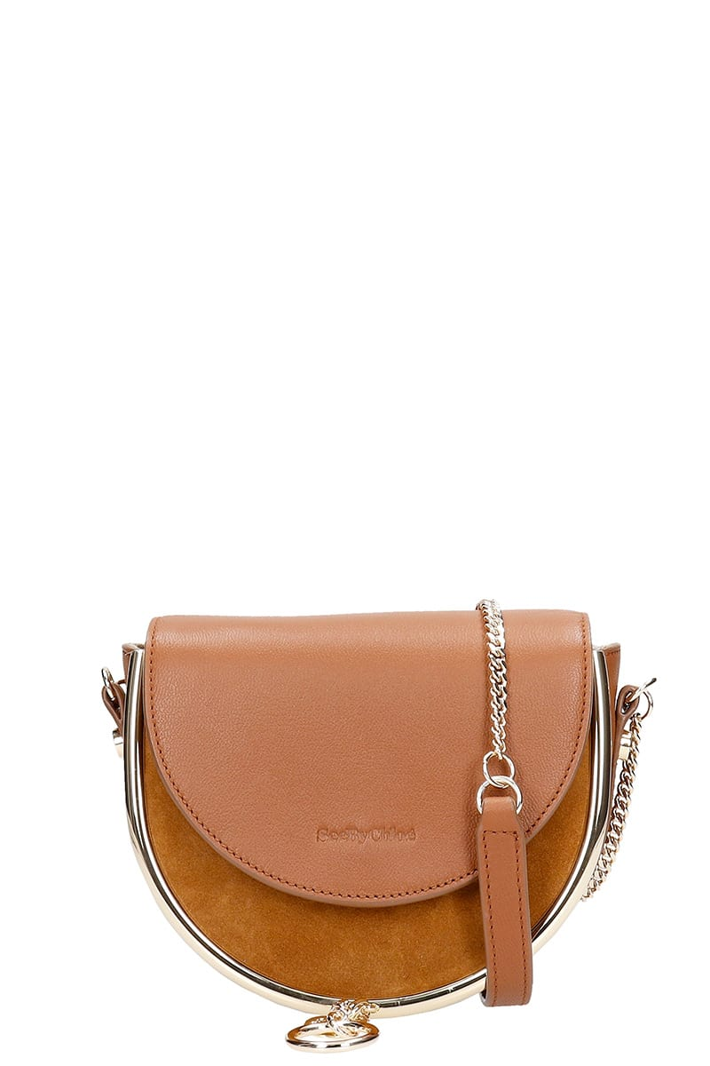 See by Chloé Mara Small Shoulder Bag In Leather Color Leather