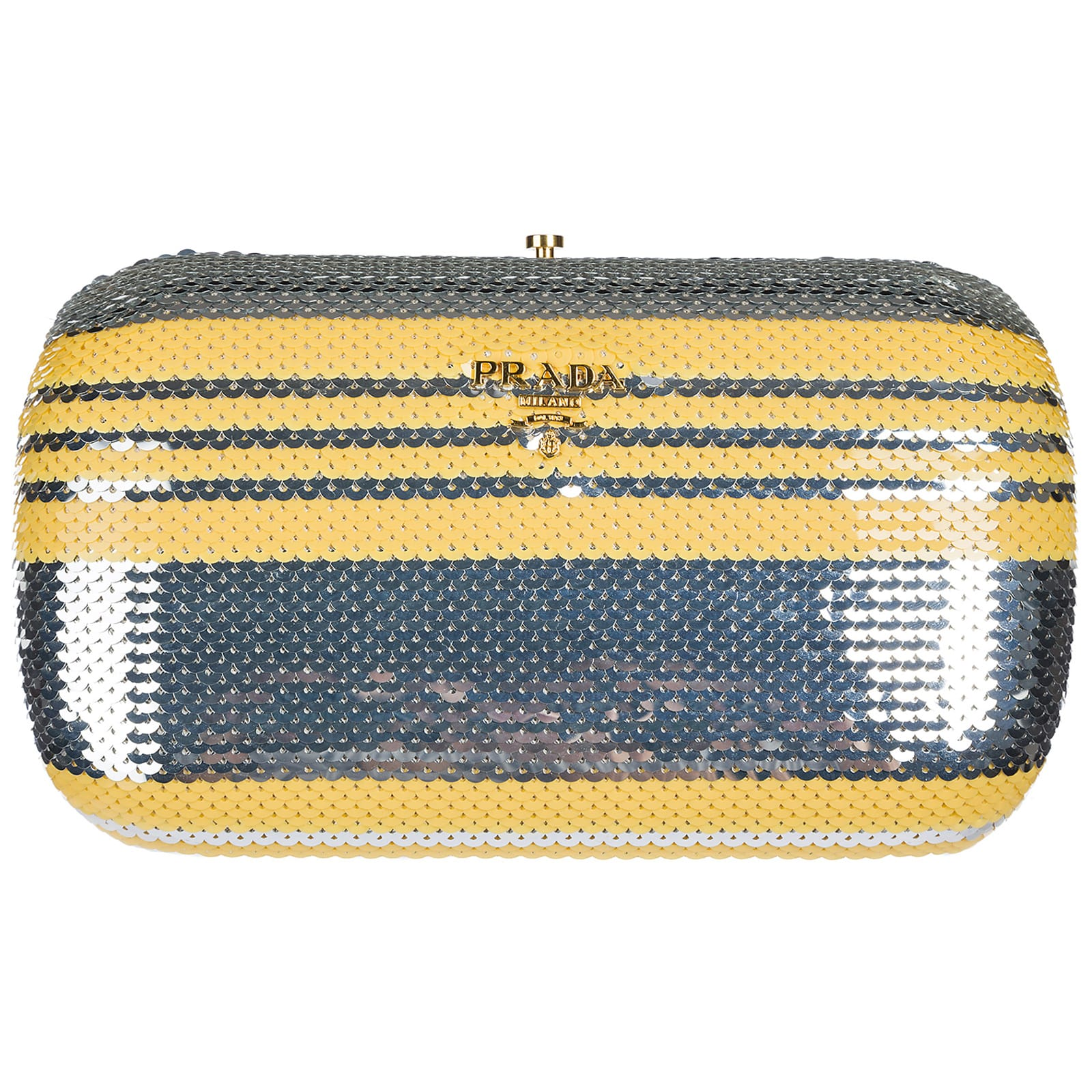 Prada Space Plein Clutch Bag