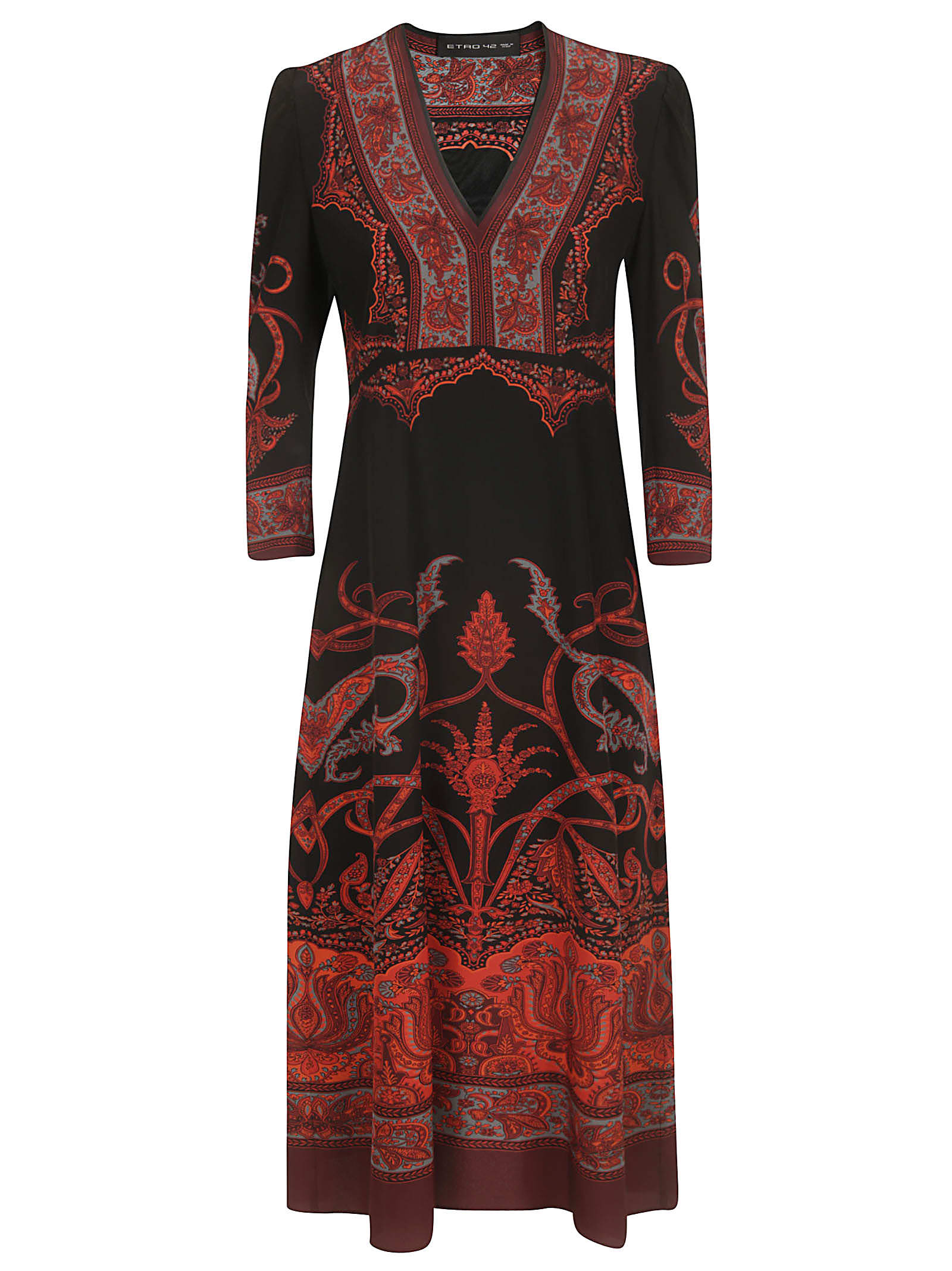 Etro Suffolk Long Dress