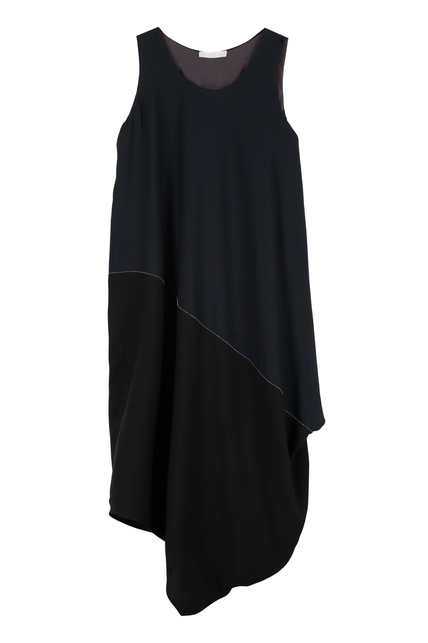 Fabiana Filippi Draped Asymmetric Dress
