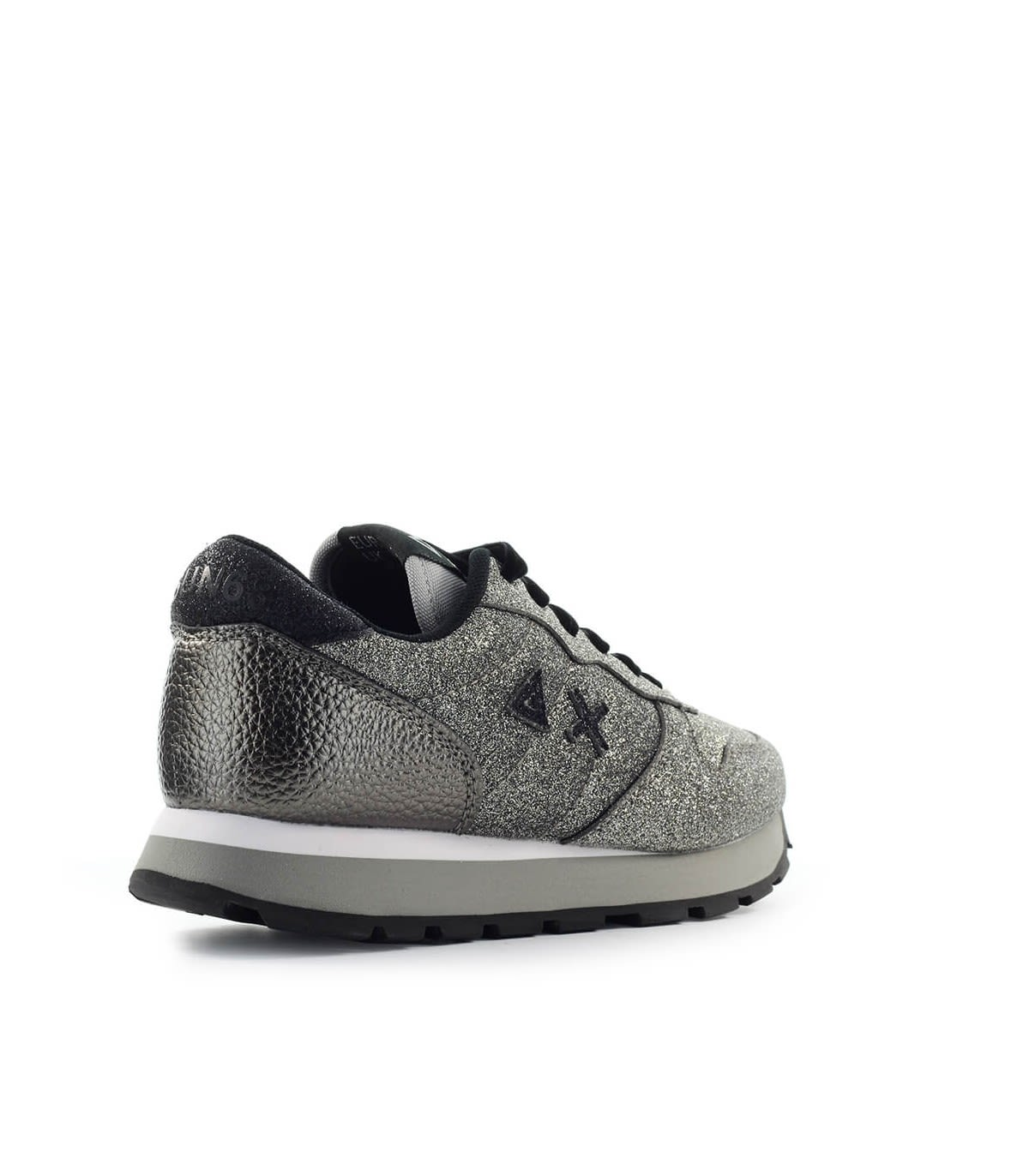 High Quality Sun68 Ally Solid Glitter Silver Sneaker - Great Deals