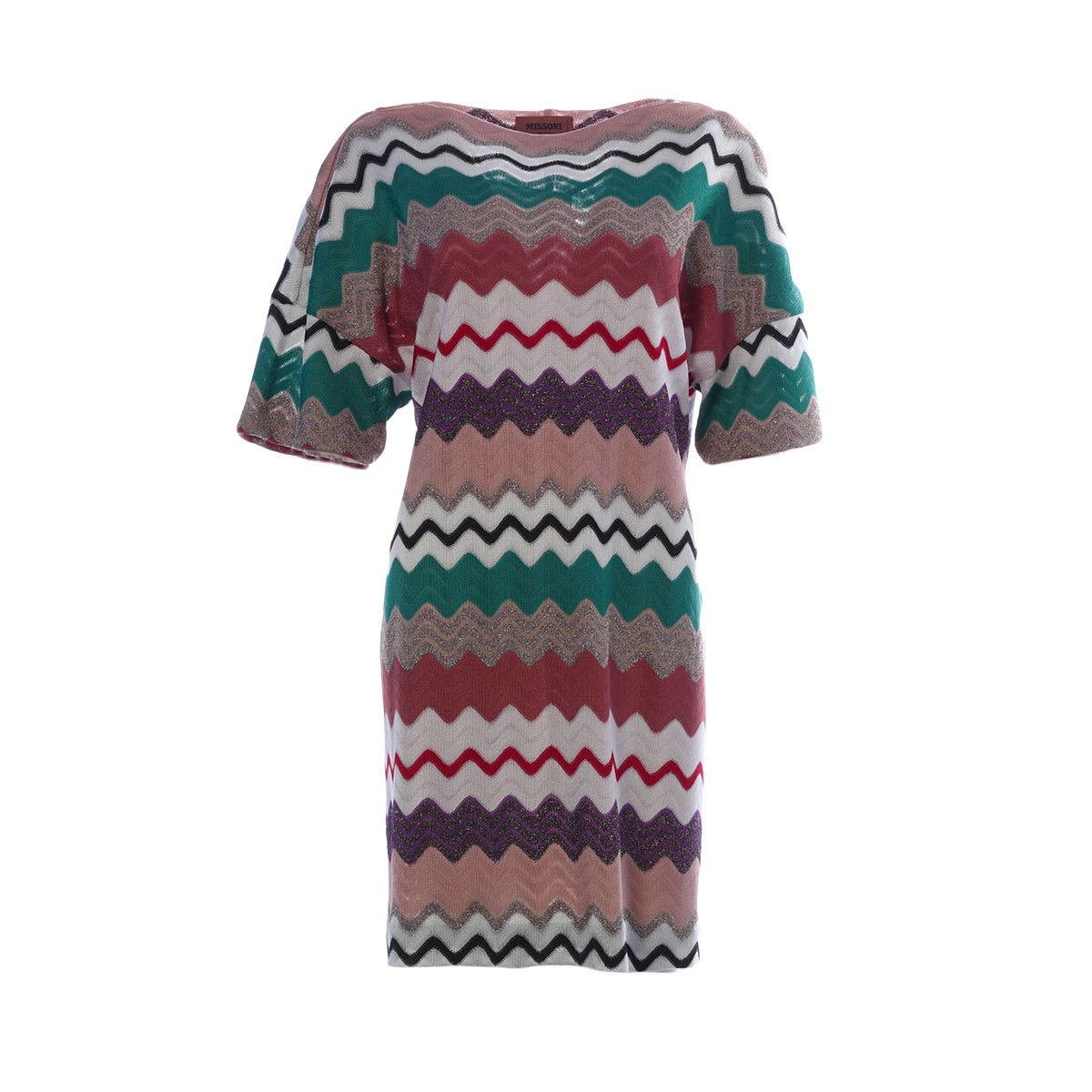 Buy Missoni Zigzag Stripe Patterned Dress online, shop Missoni with free shipping