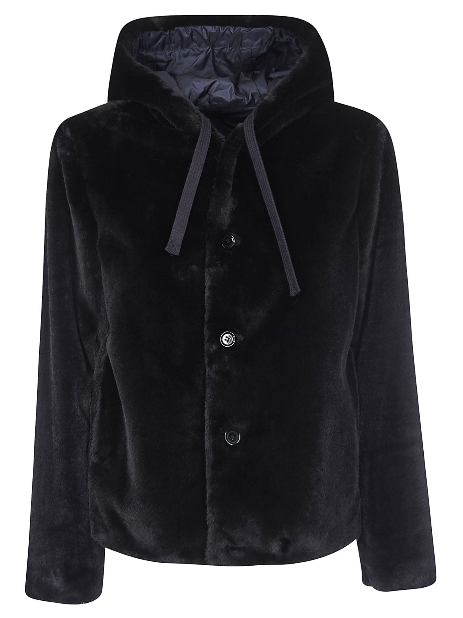 Aspesi Drawstring Hooded Jacket