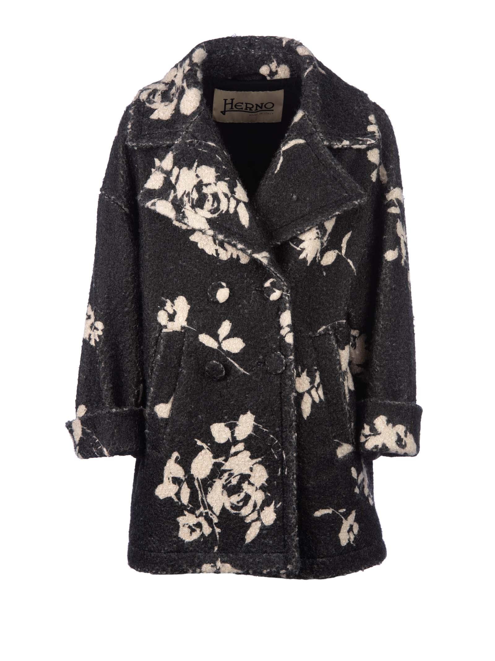 Herno Herno Printed Coat
