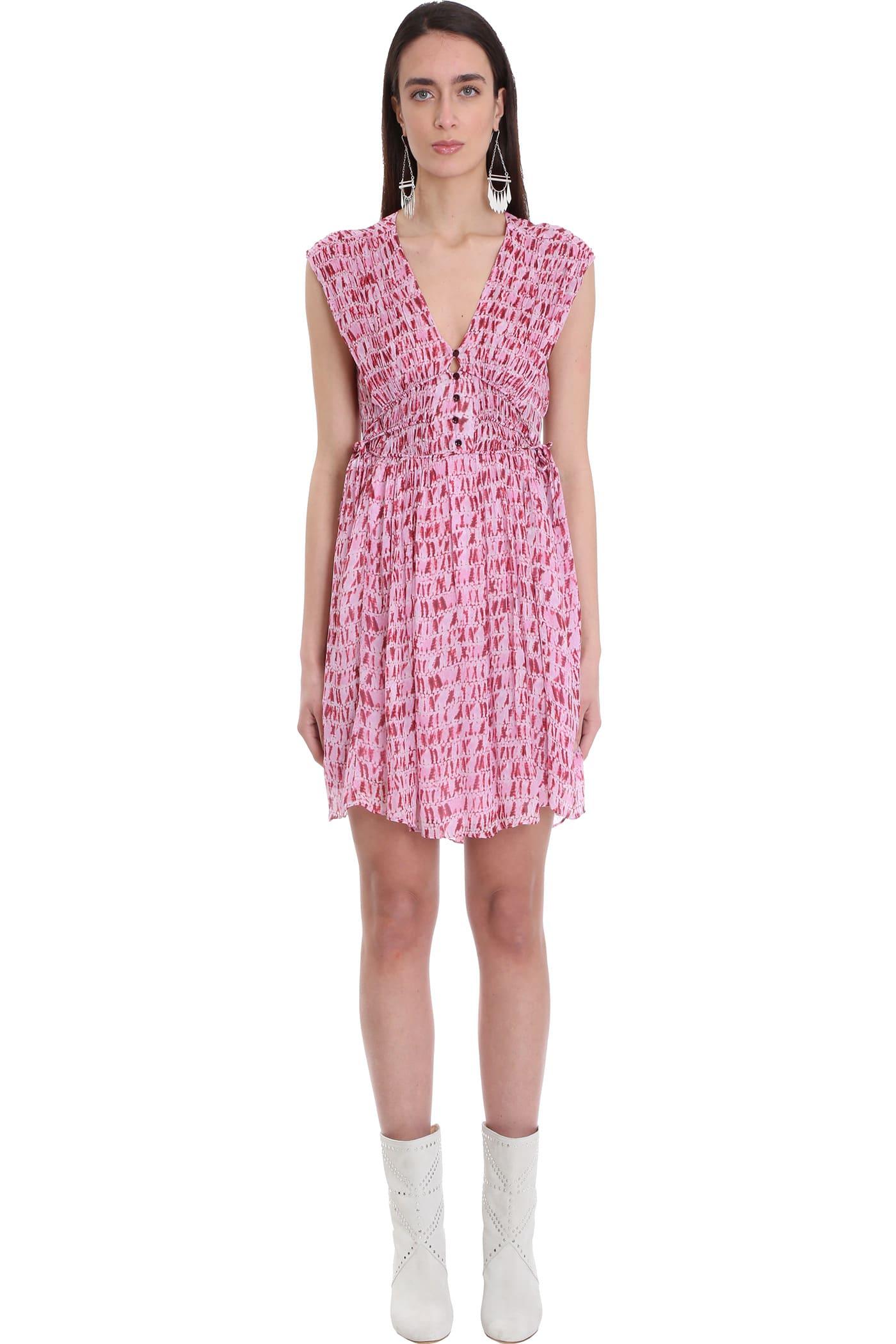 Isabel Marant Étoile Mini dresses DRESS IN RED VISCOSE