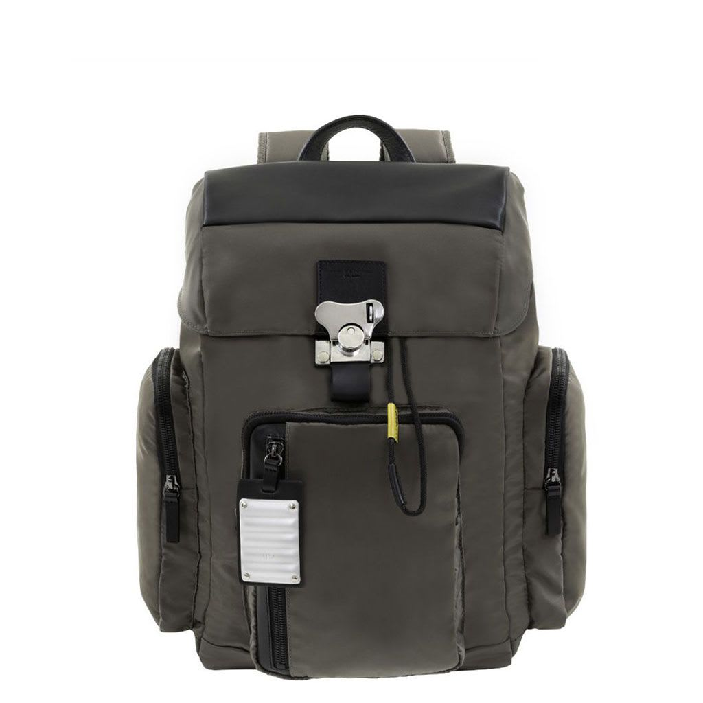 Nylon Bank On The Road-butterfly Pc Backpack M