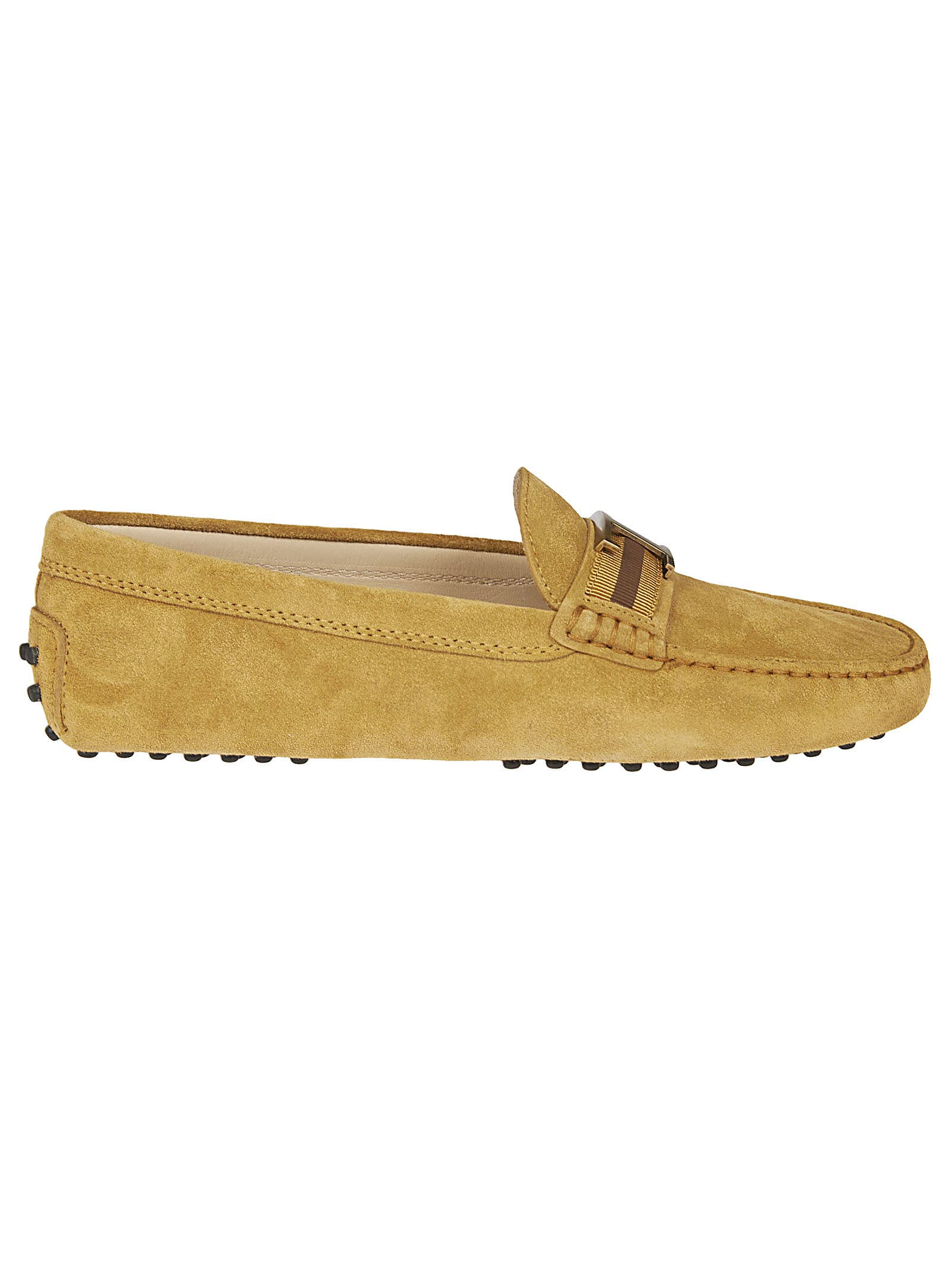 Tods Mid-t Plaque Loafers