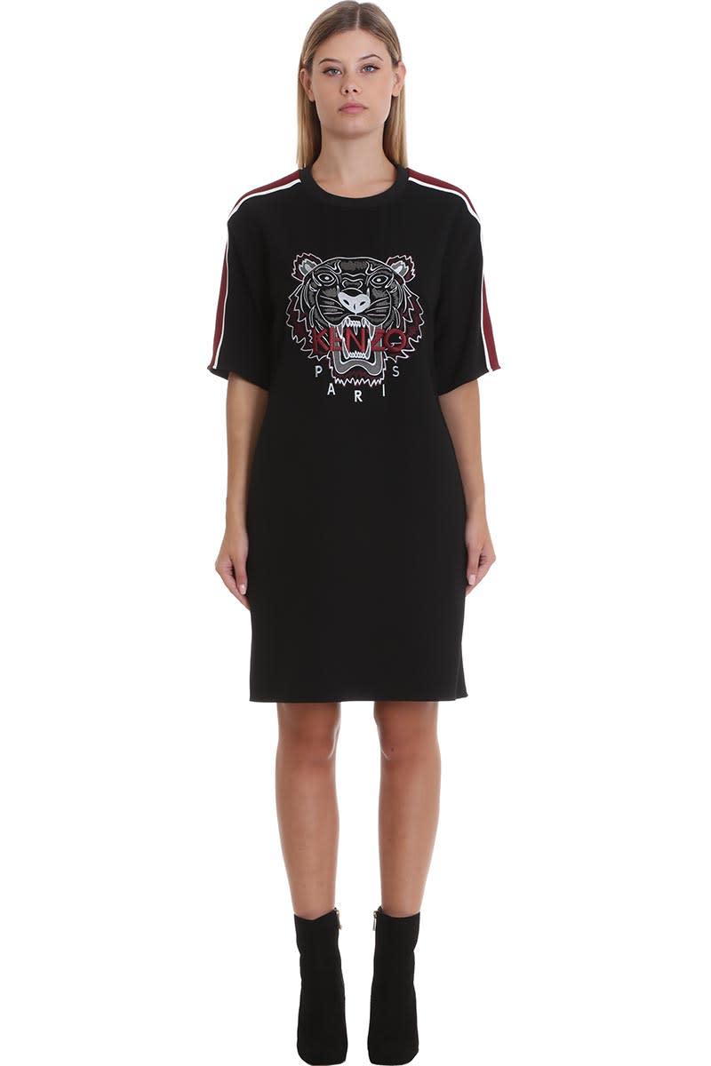 Kenzo Dress In Black Tech & synthetic