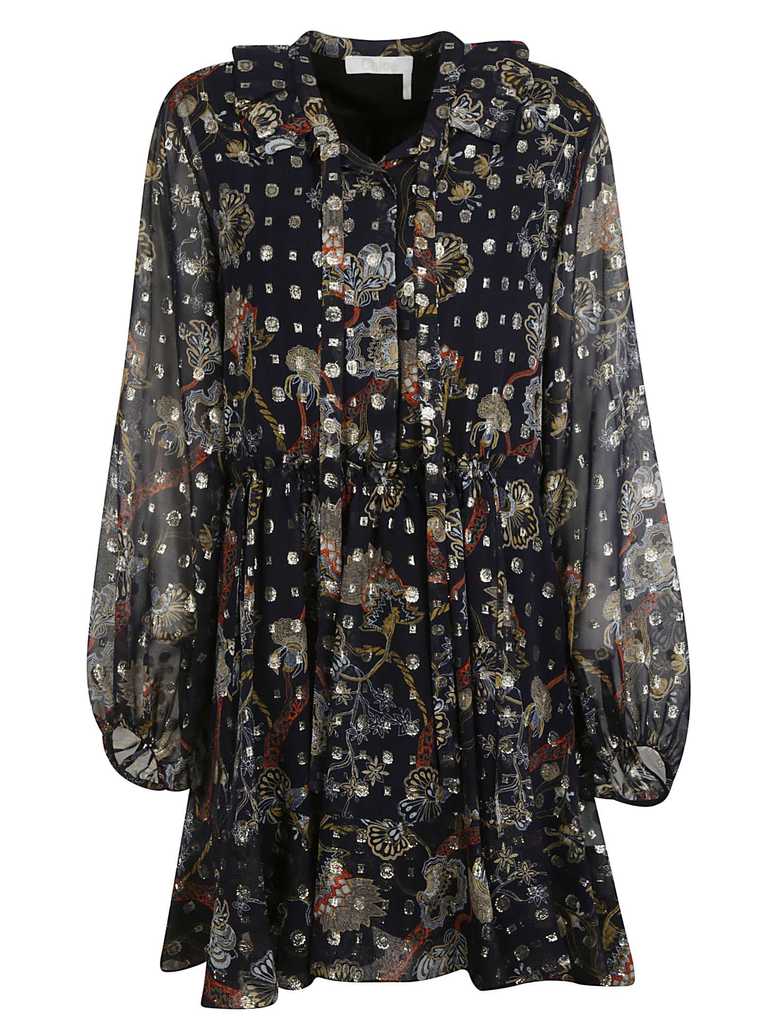Buy Chloé Embellished All-over Dress online, shop Chloé with free shipping