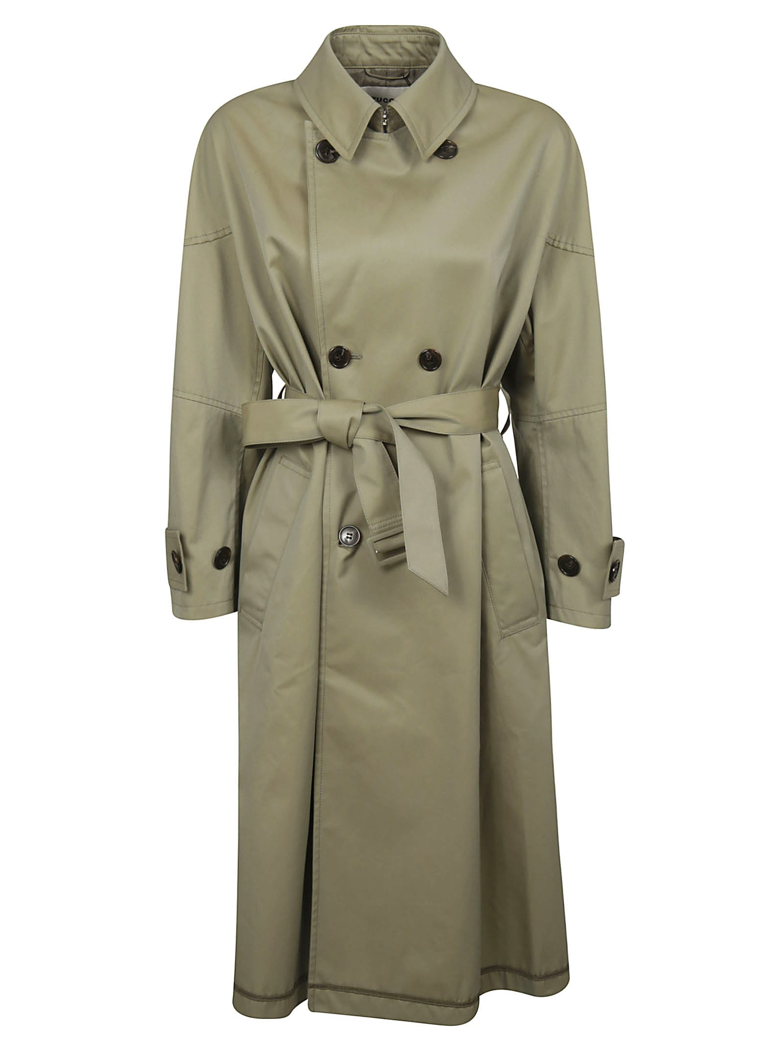 Zucca Double-breasted Trench