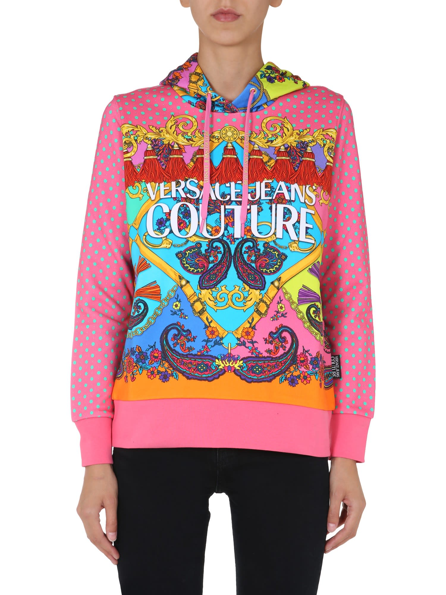 Versace Jeans Couture Cottons HOODIE