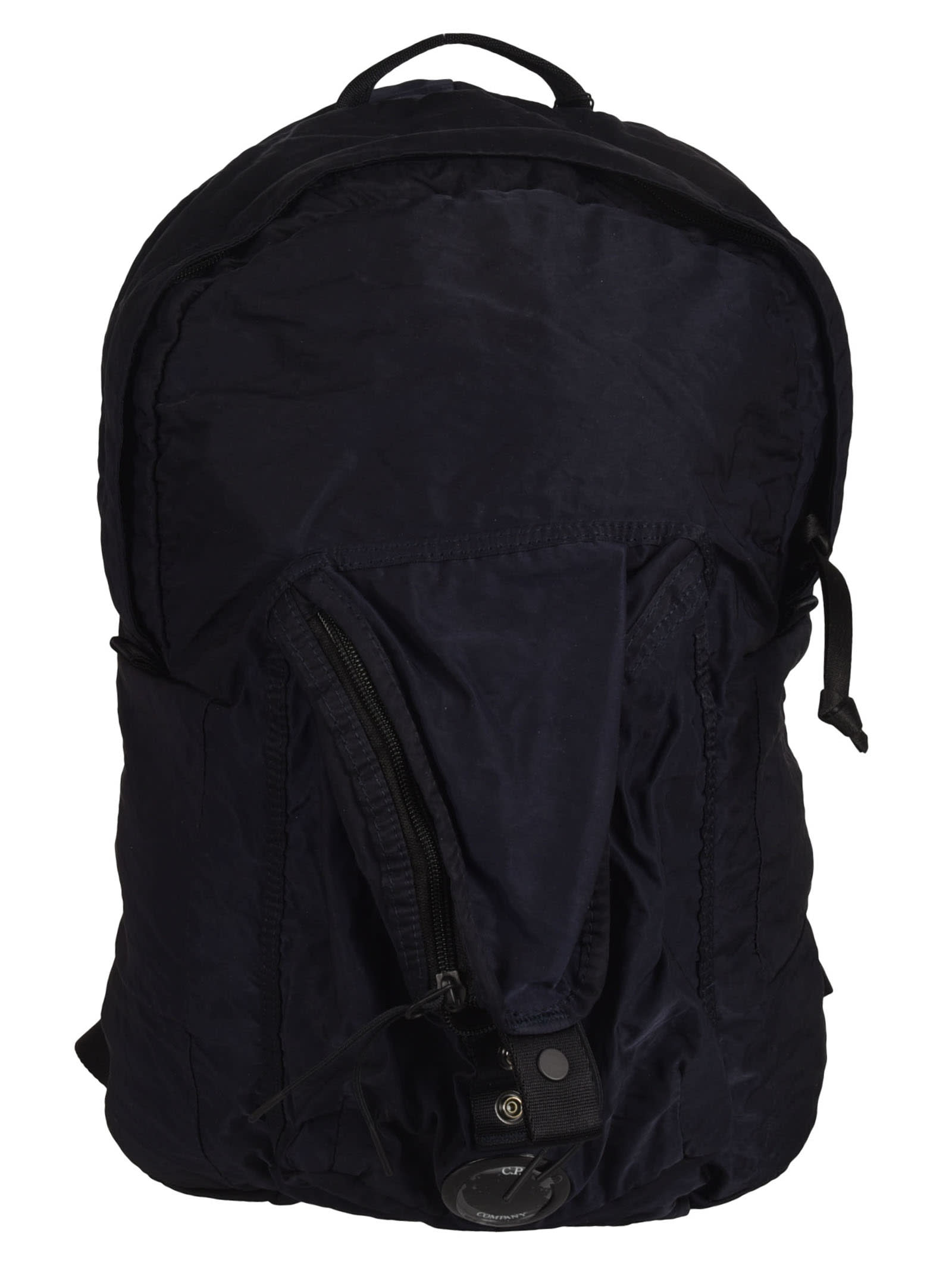 C.p. Company SNAP-LOCK STRAP DETAIL TOP ZIP TRAVEL BACKPACK