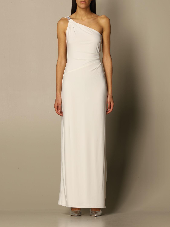 Buy Lauren Ralph Lauren Dress Lauren Ralph Lauren One-shoulder Dress online, shop Ralph Lauren with free shipping