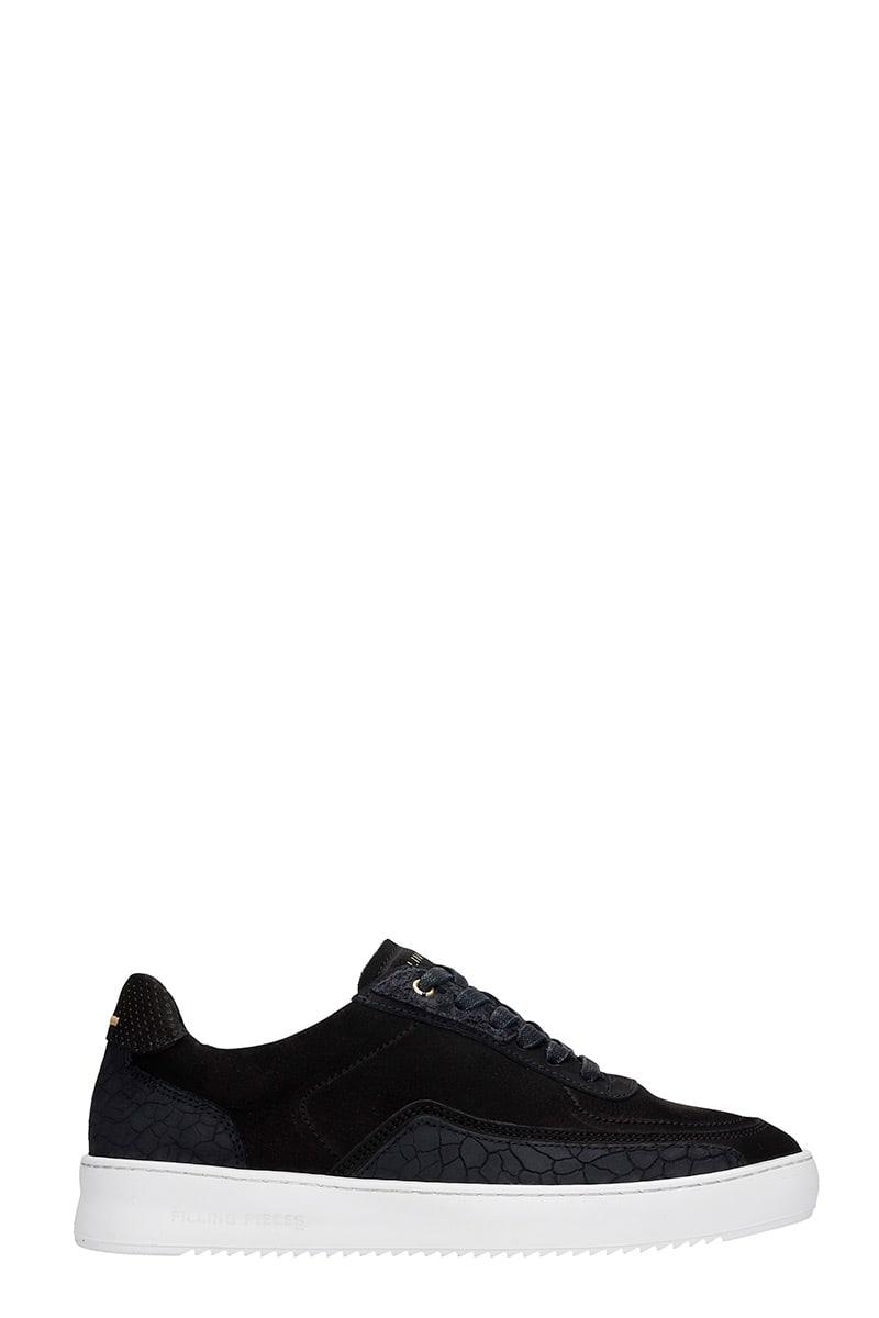 Mondo Ripple Sneakers In Black Leather