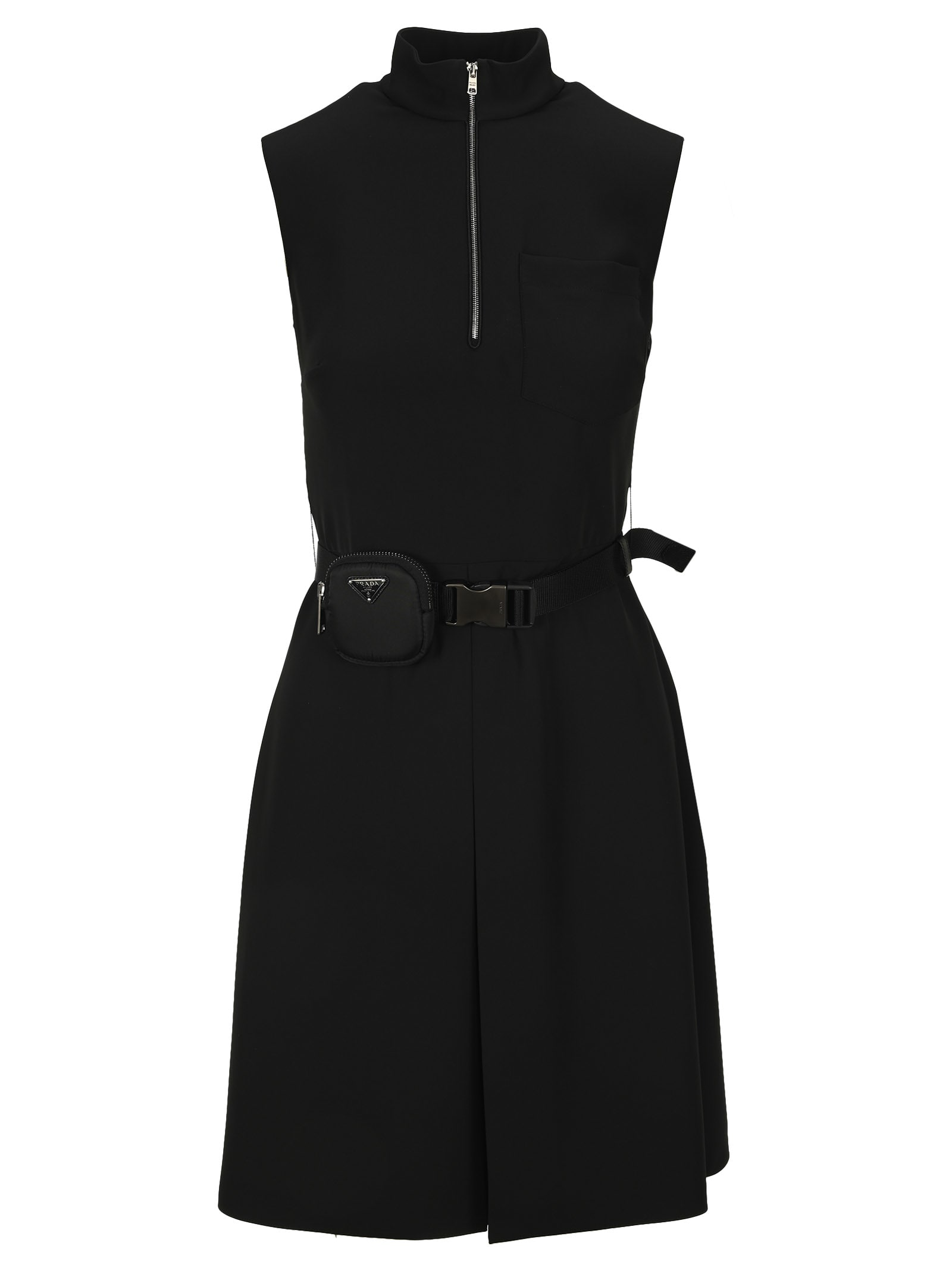 Prada BELTED DRESS