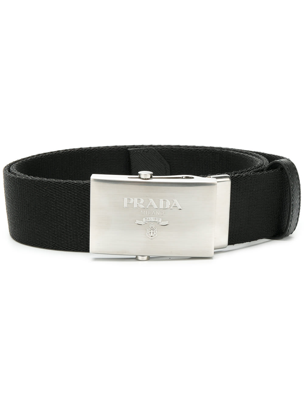 Prada Nylon Logo Belt