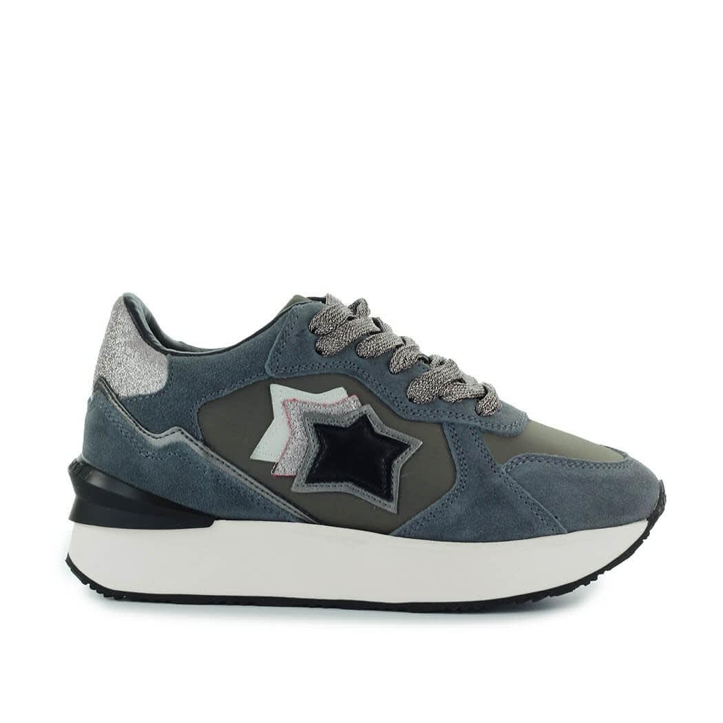 Andromeda Grey Glitter Sneaker