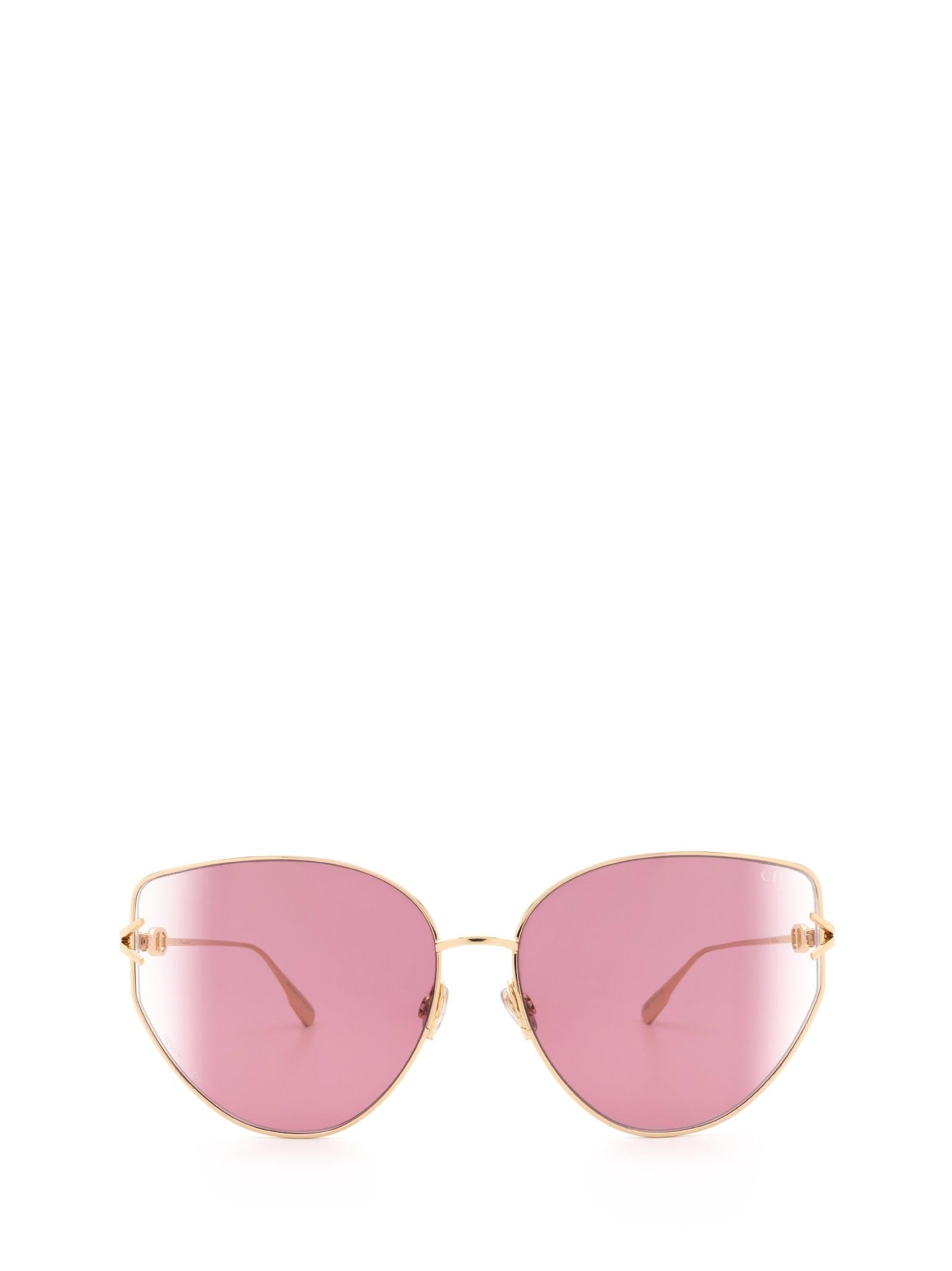 Dior GIPSY1 ROSE GOLD SUNGLASSES