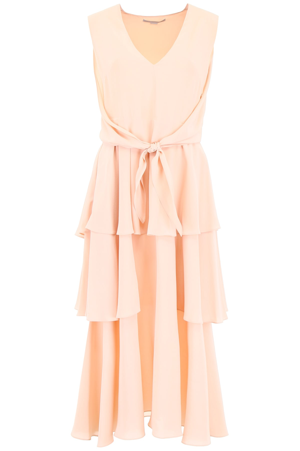 Buy Stella McCartney Long Silk Dress online, shop Stella McCartney with free shipping