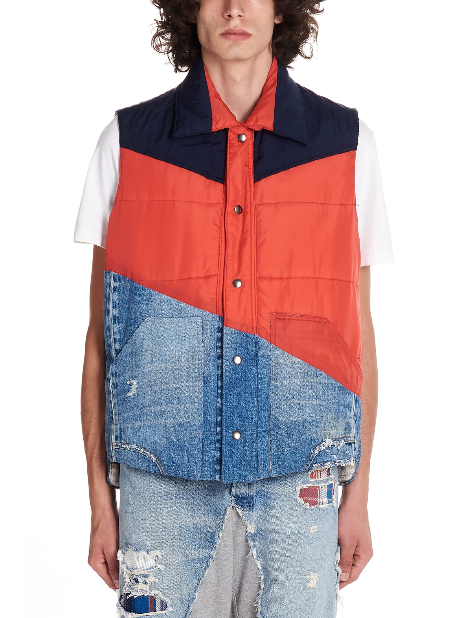 Greg Lauren Tops 50/50 VEST