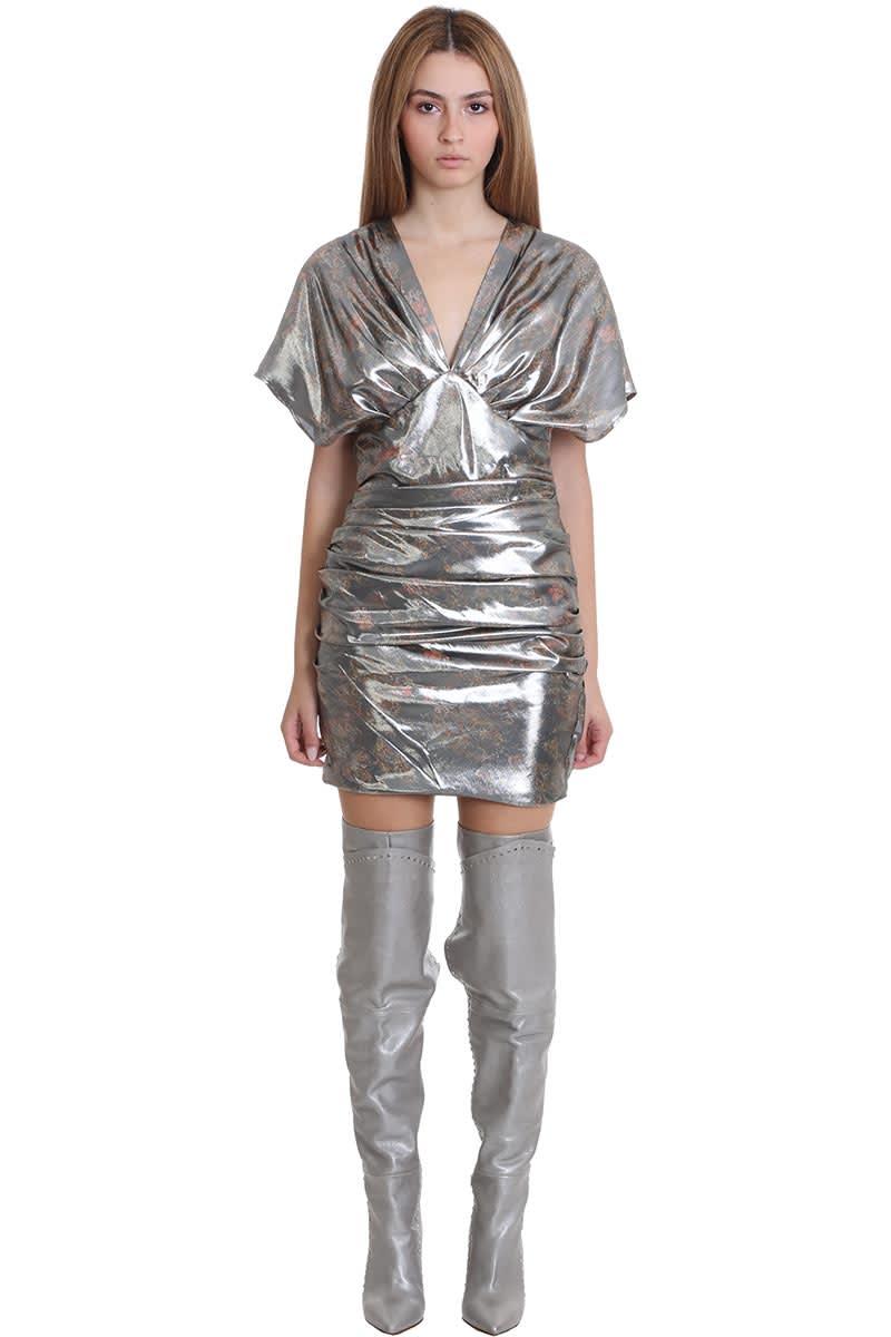 Buy IRO Mimeta Dress In Black Silk online, shop IRO with free shipping