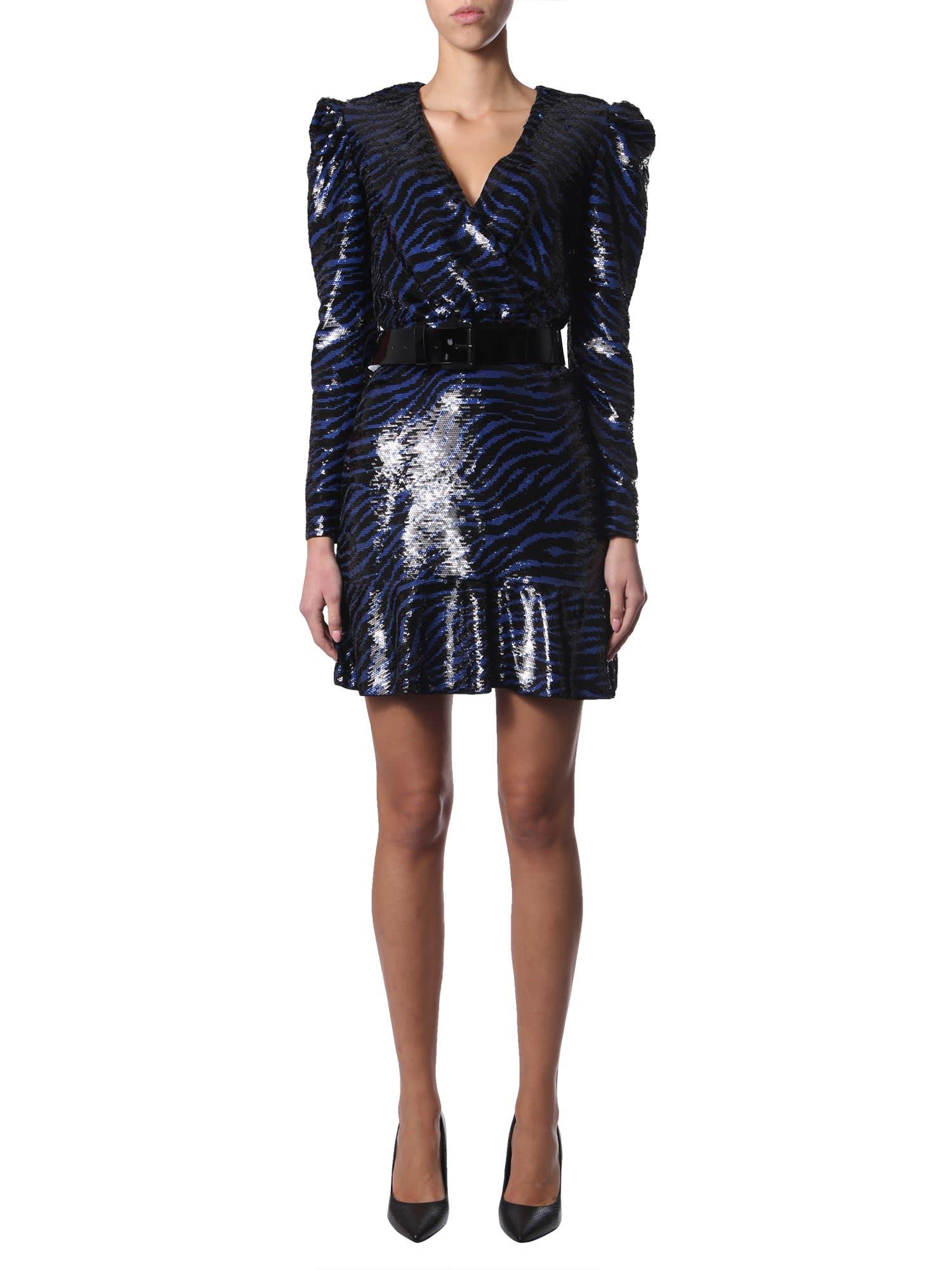Buy MICHAEL Michael Kors Dress With Sequins online, shop MICHAEL Michael Kors with free shipping