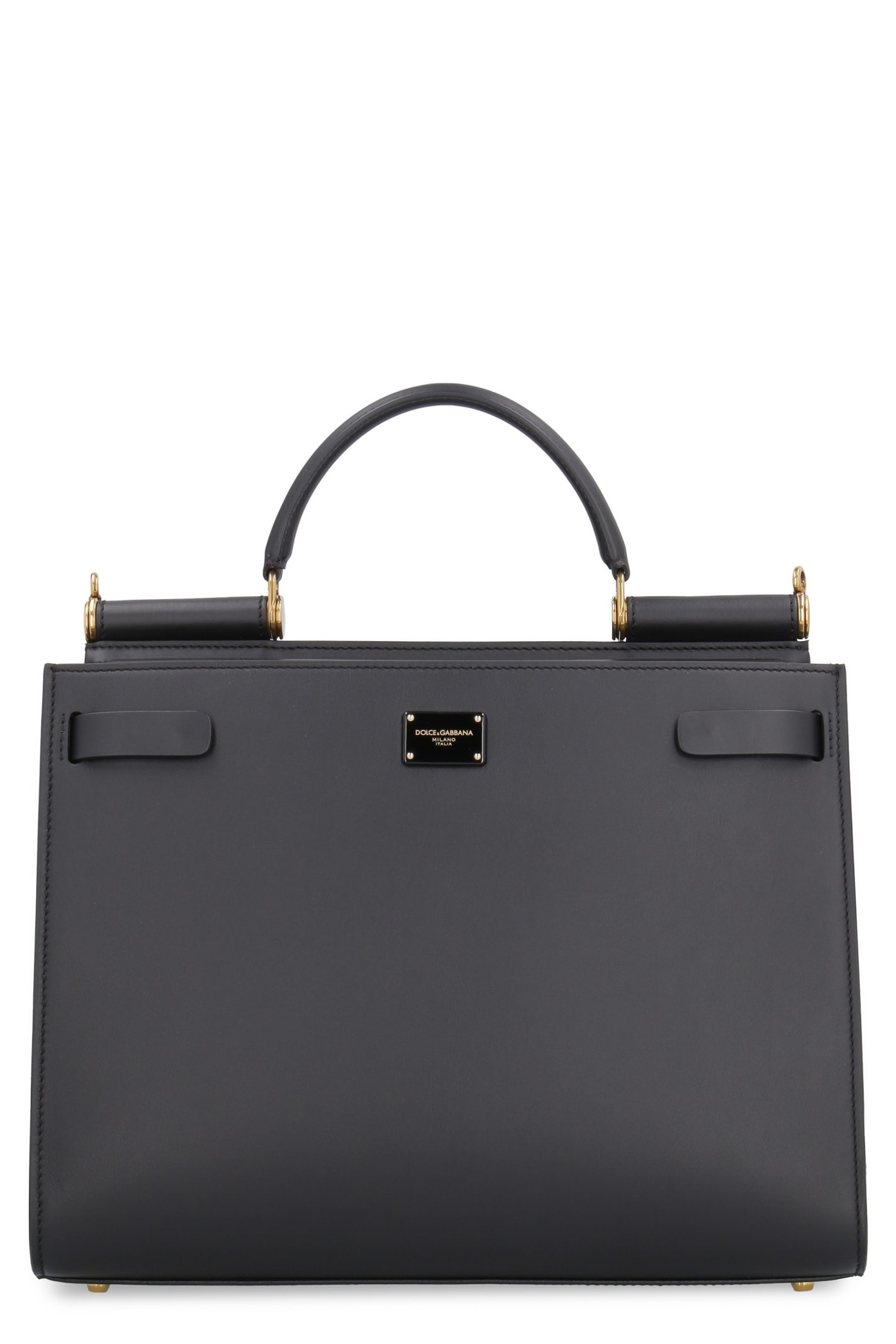 Dolce & Gabbana Sicily 62 Leather Tote