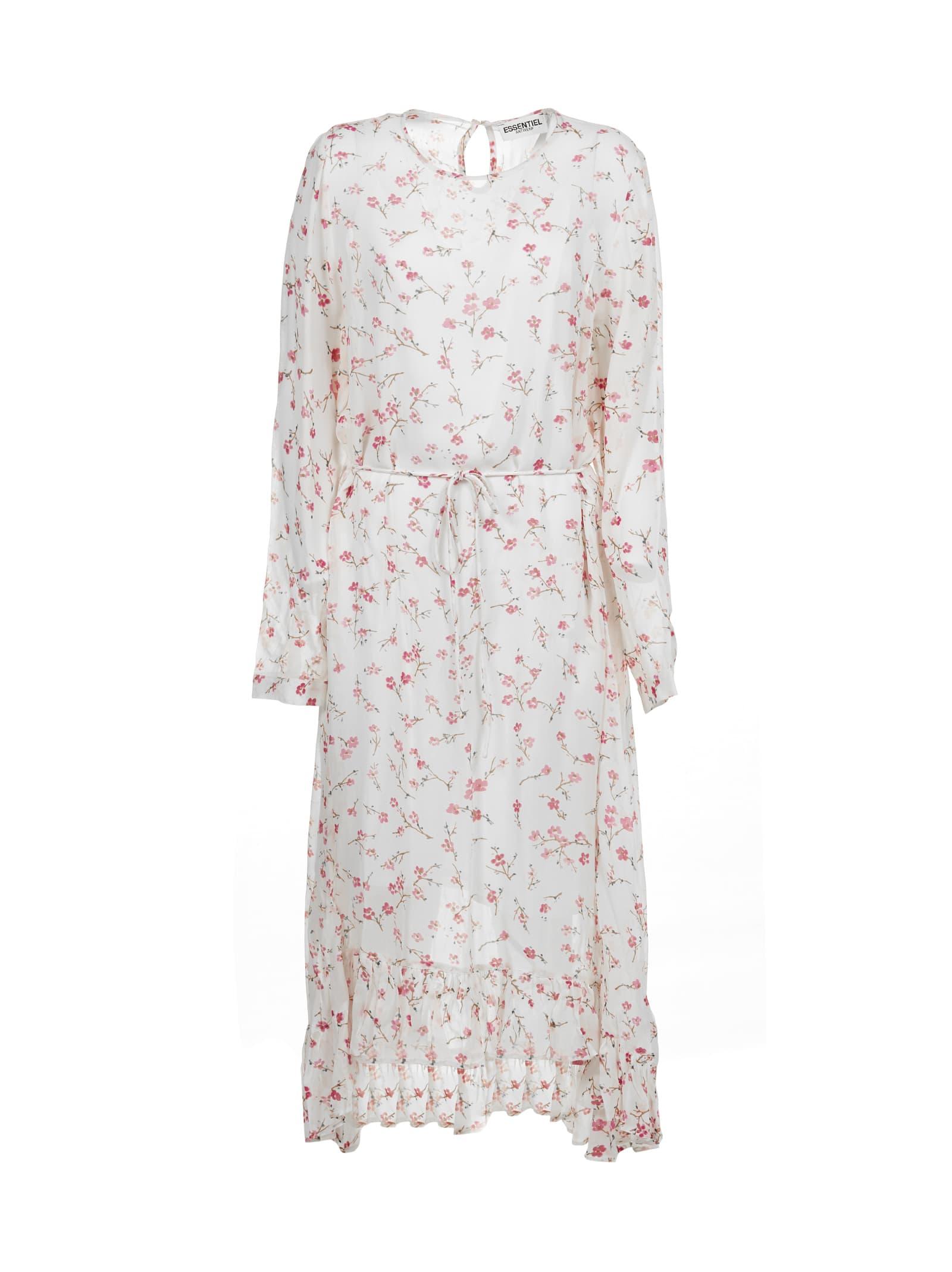 Buy Essentiel Antwerp Flower Print Dress online, shop Essentiel Antwerp with free shipping