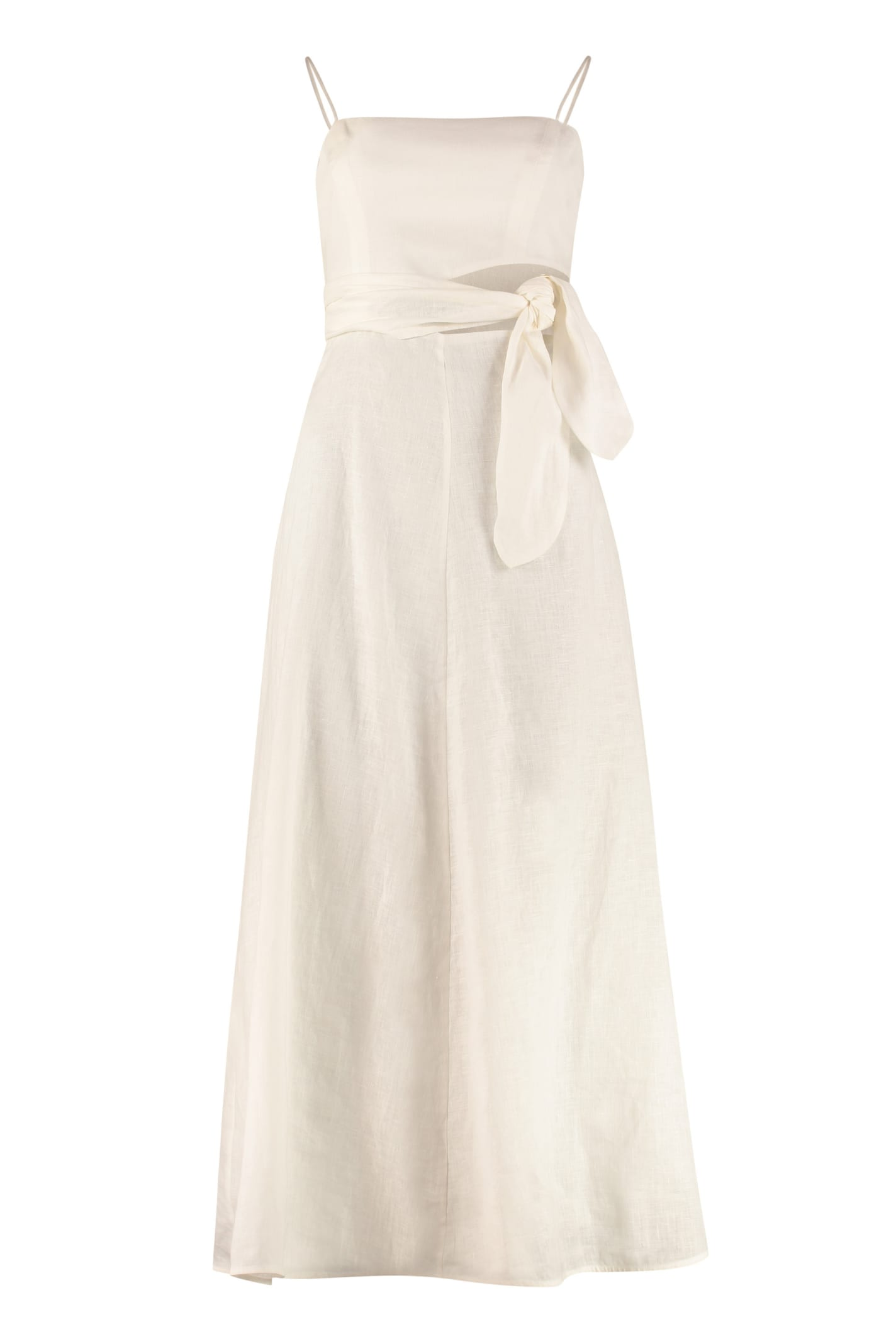 Buy Zimmermann Amelie Linen Maxi Dress online, shop Zimmermann with free shipping