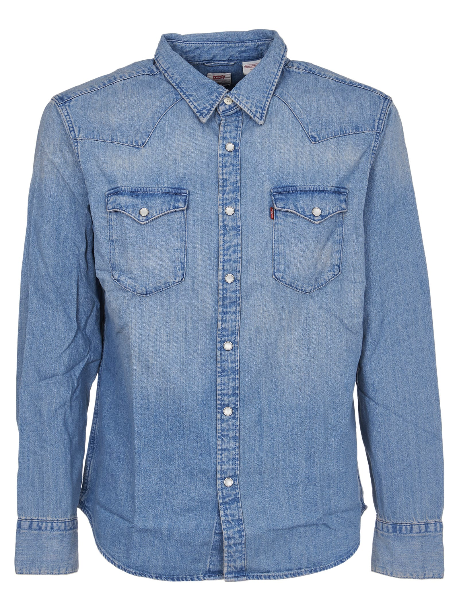 Levis Light Blue Barstow Western Shirt