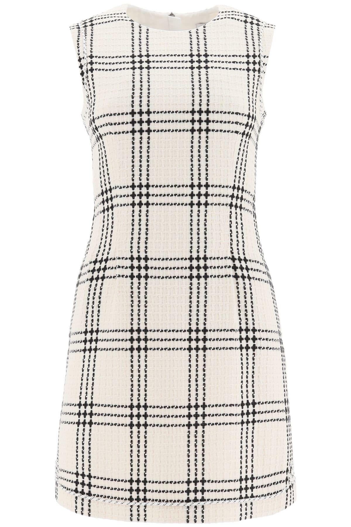 MSGM Boucle Sheath Dress