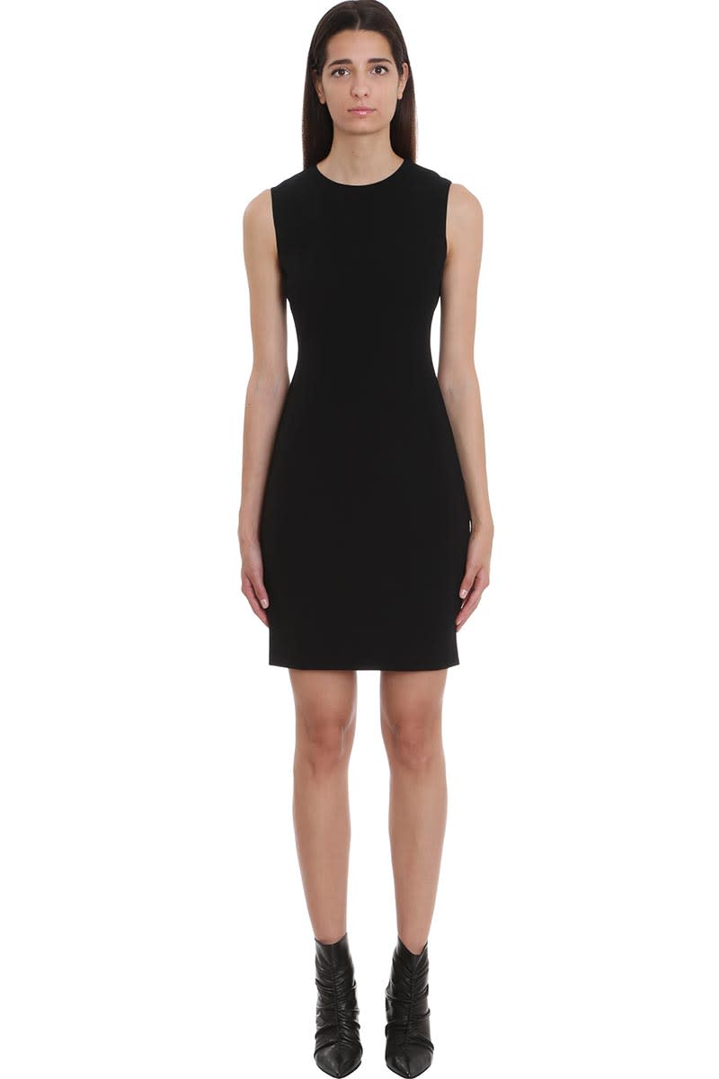 Theory Dress In Black Viscose