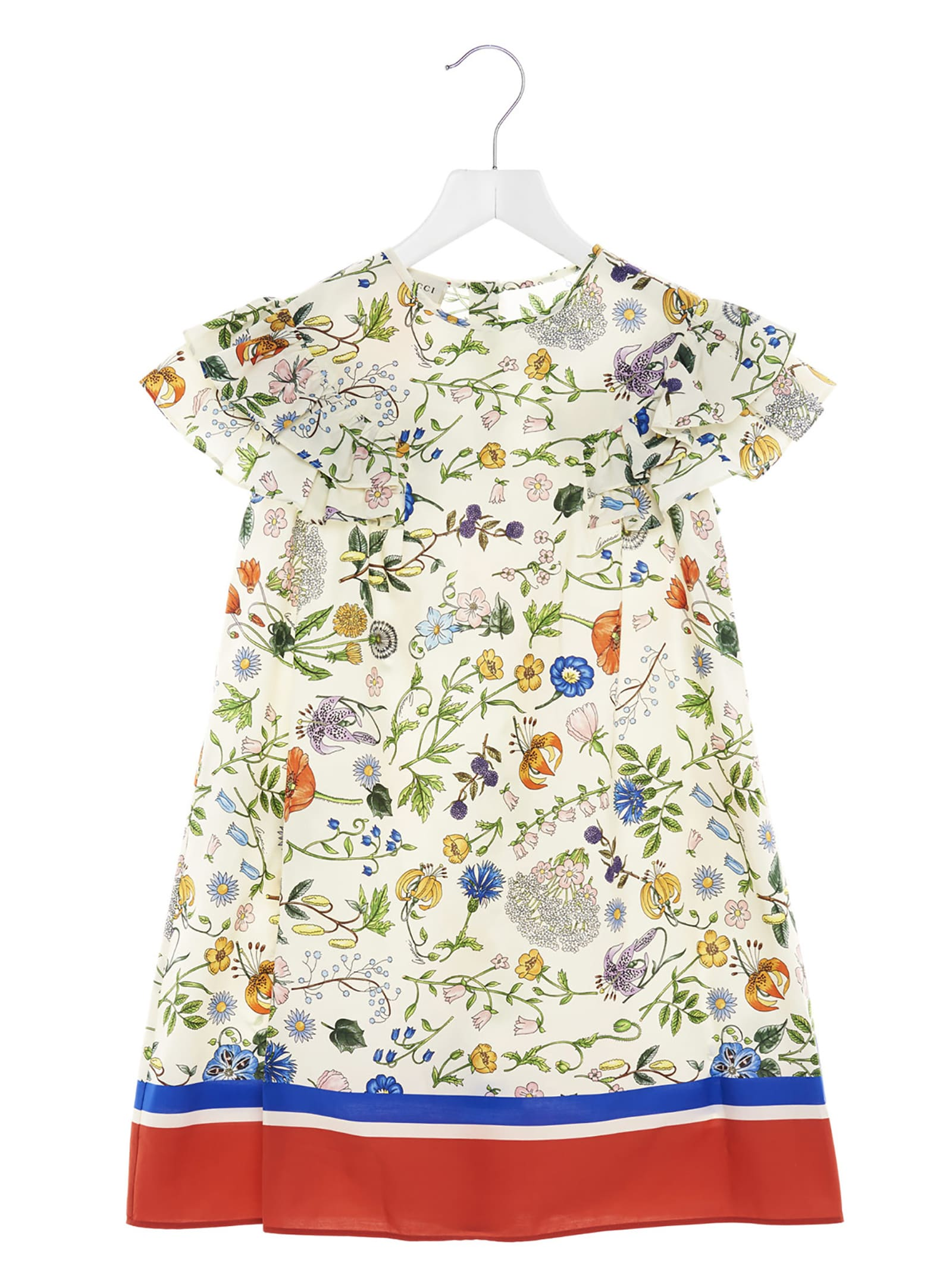 Buy Gucci flora Festival Dress online, shop Gucci with free shipping