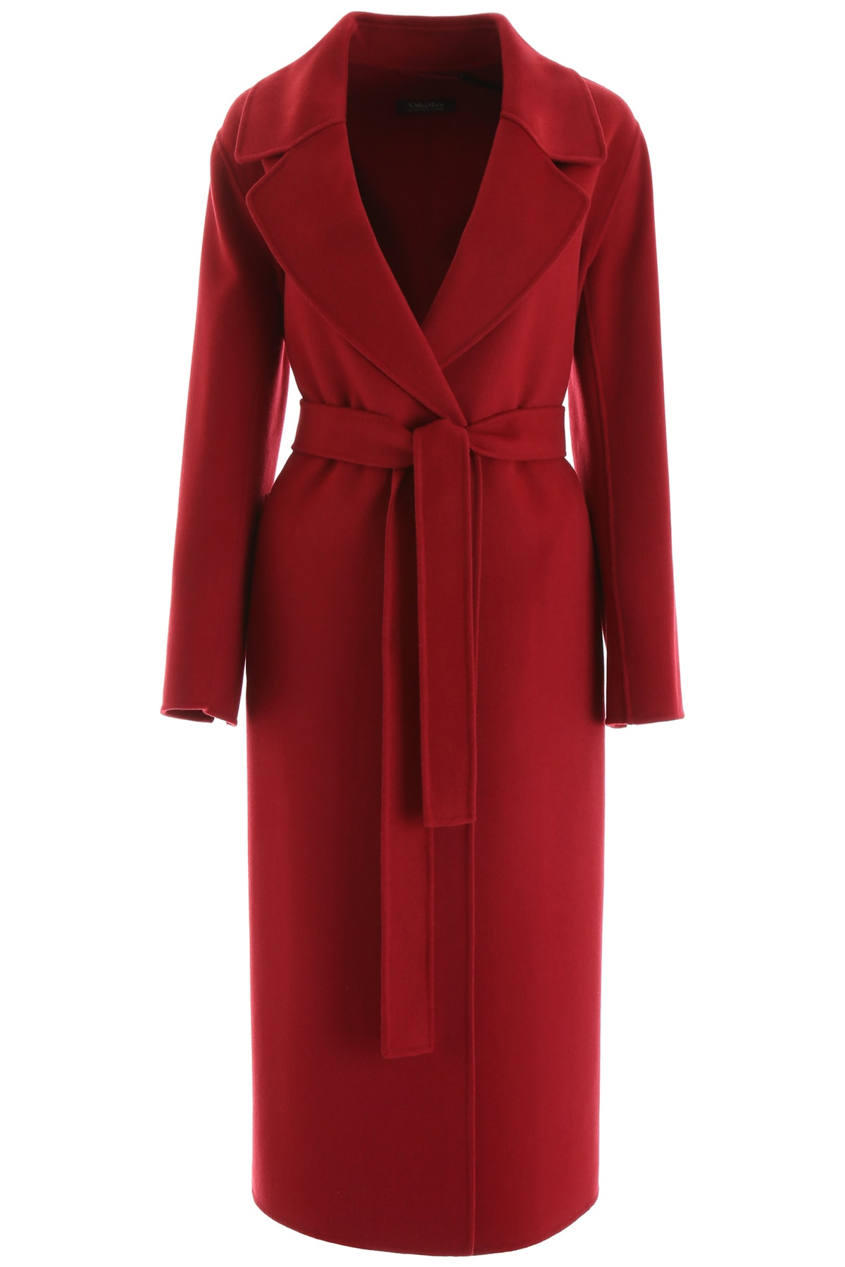 S Max Mara Here is The Cube Vincent Wrap Coat