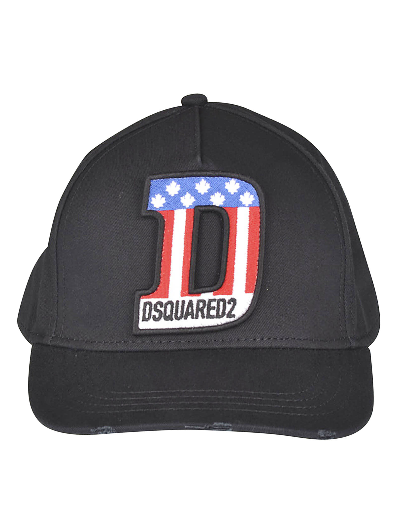 Dsquared2 Logo Patched Cap