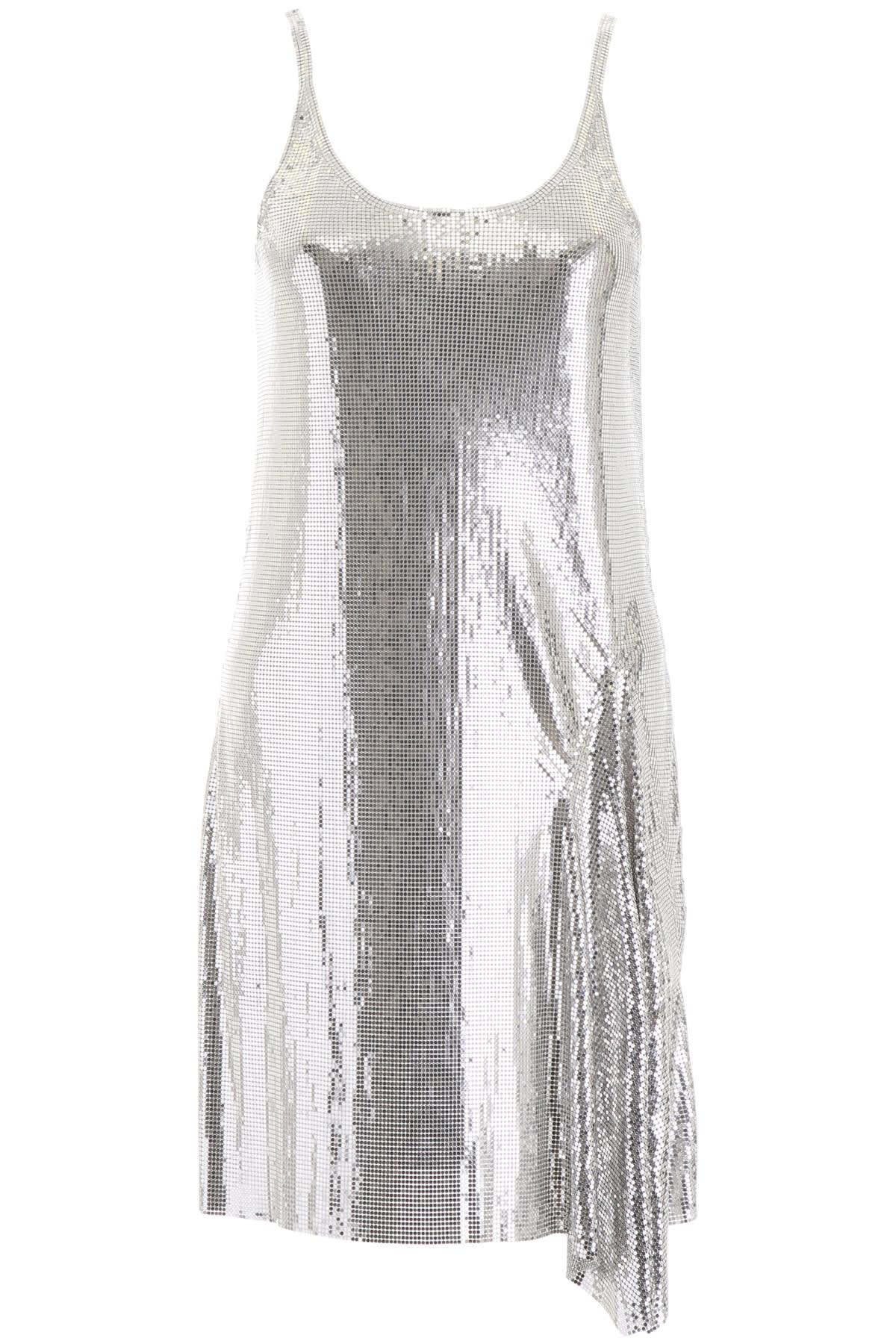 Paco Rabanne Metallic Mini Dress