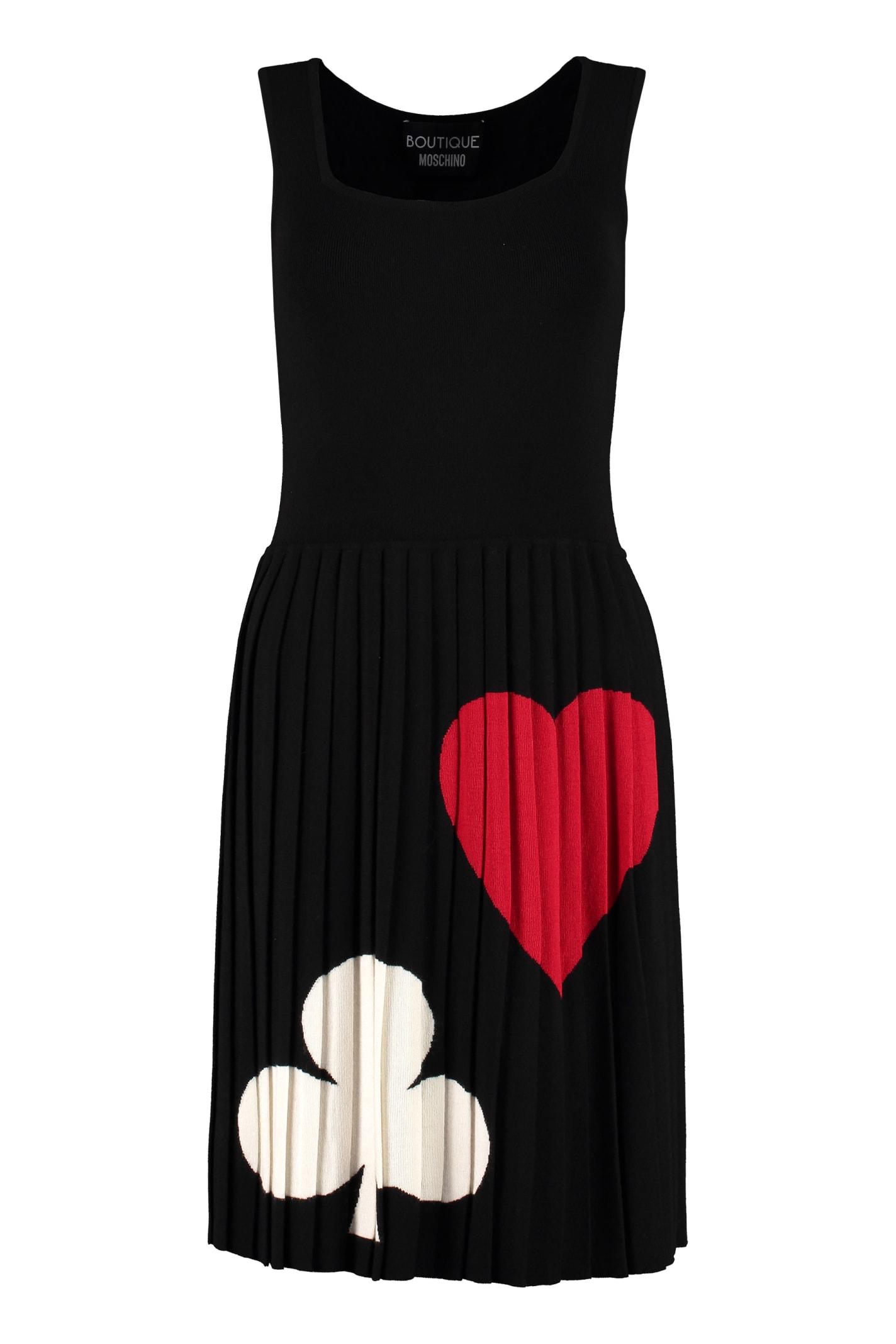 Boutique Moschino Intarsia Knit-dress