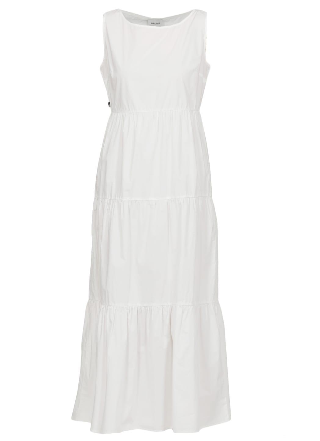 Buy Woolrich Poplin Long Dress online, shop Woolrich with free shipping
