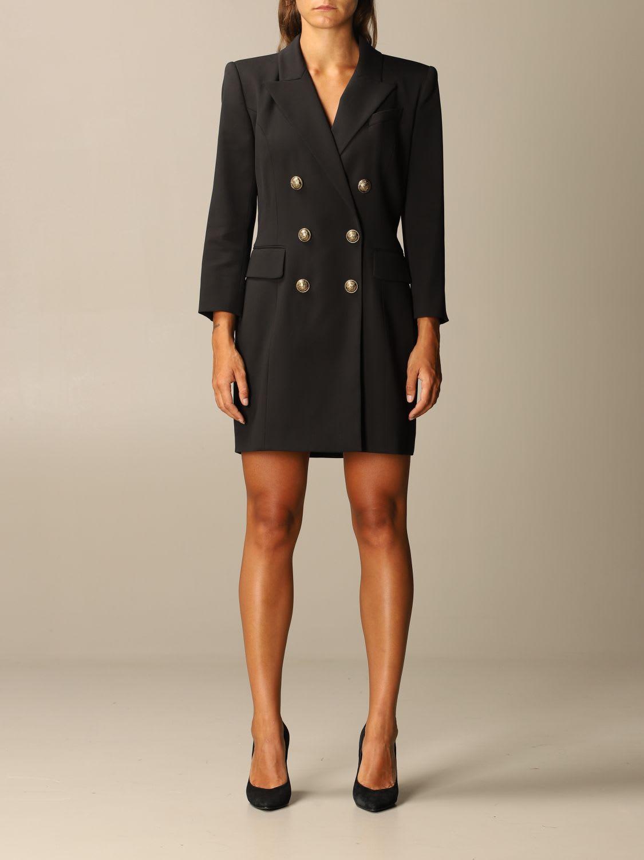 Balmain Dress Double-breasted Balmain Jacket Dress