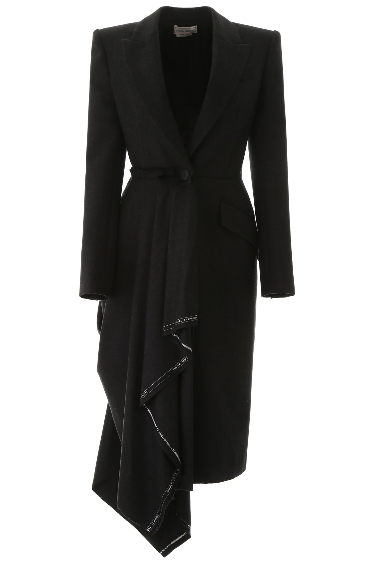 Alexander McQueen Draped Coat