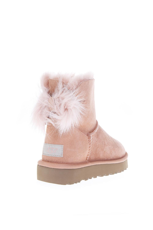 ad20b4b9eed UGG Fluff Pink Mini Boots