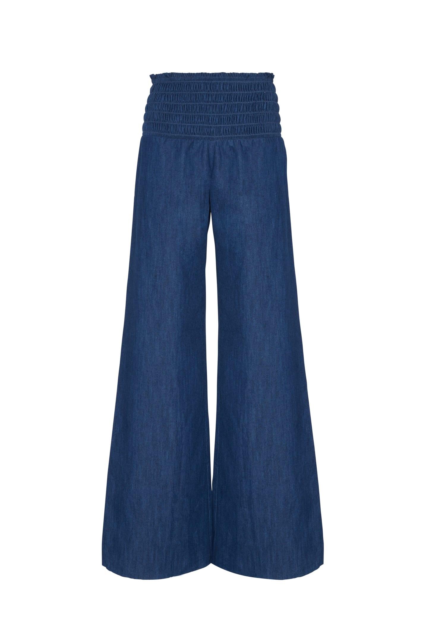 Guenda Trousers In Denim